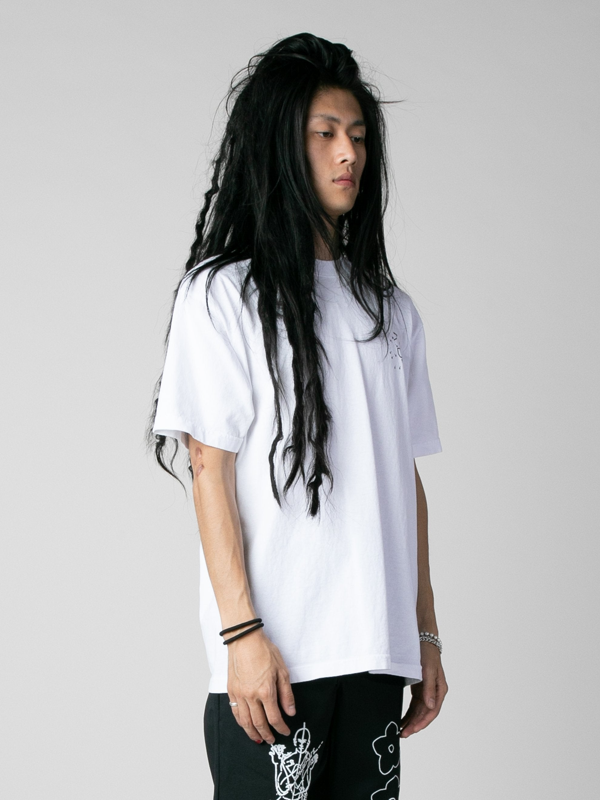 White Start Here T-Shirt 4