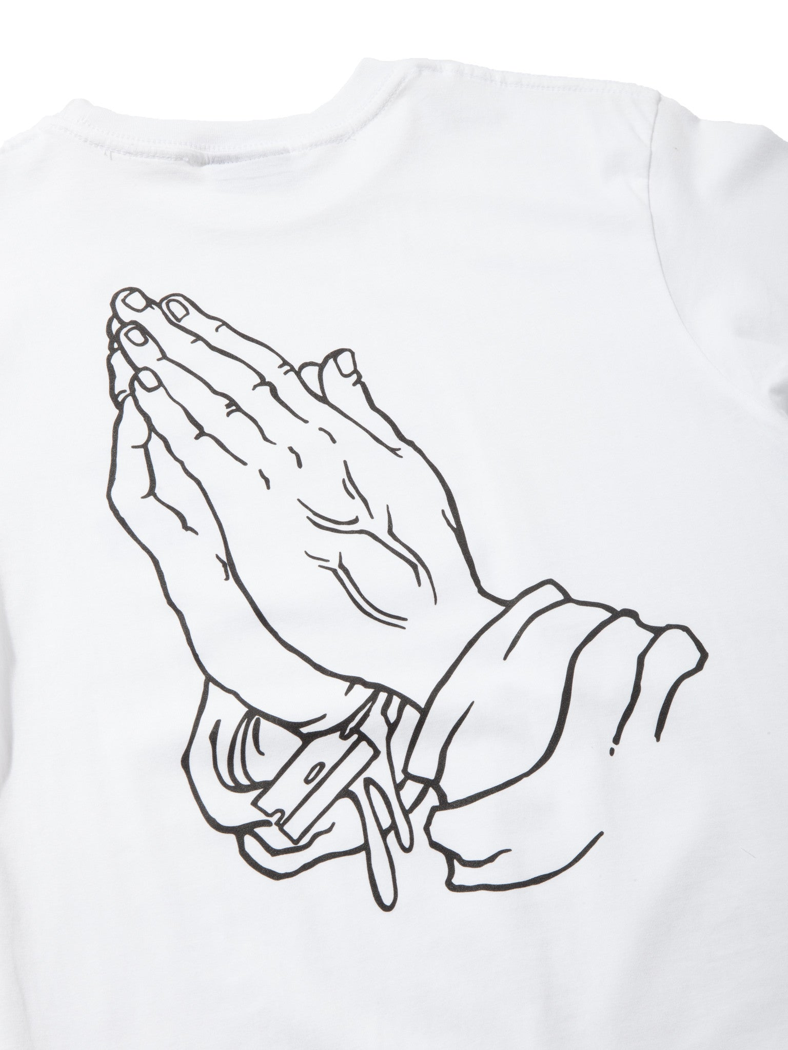 White OG Hands T-Shirt 7