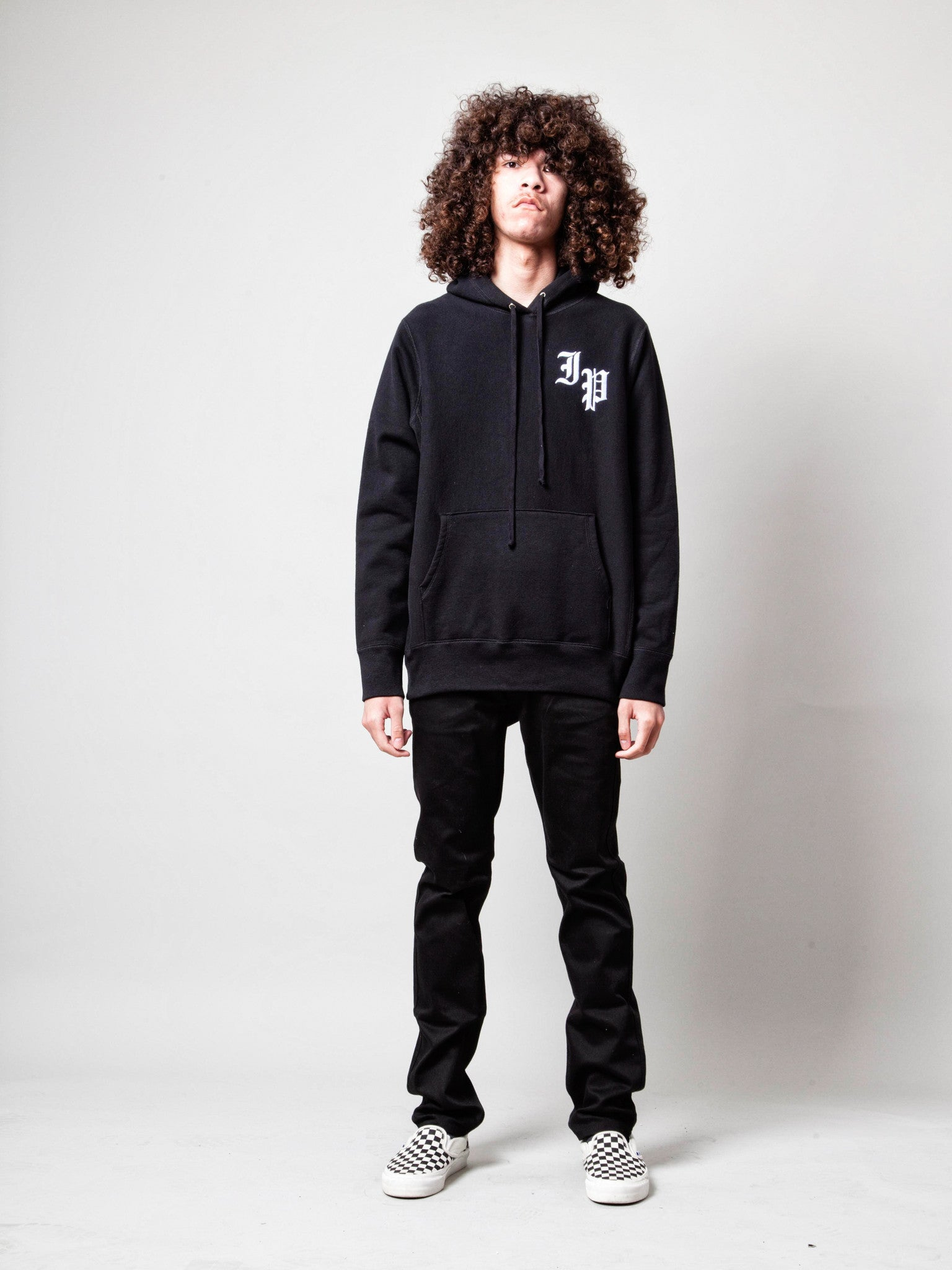 Black Slauson Pullover Hooded Sweatshirt 2