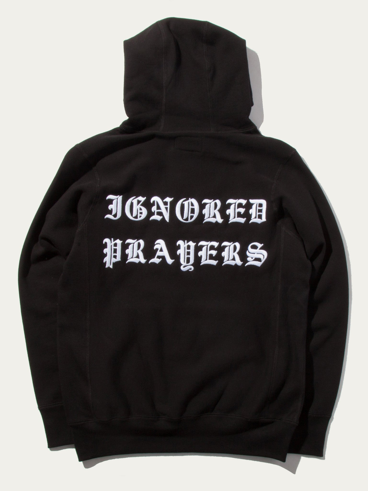 Black Slauson Pullover Hooded Sweatshirt 1