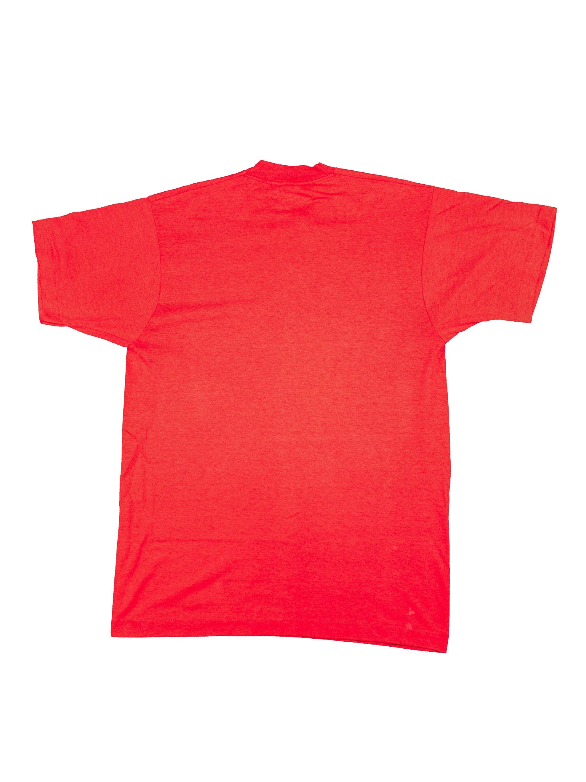 Red 1990's Imported From Africa T-Shirt 6