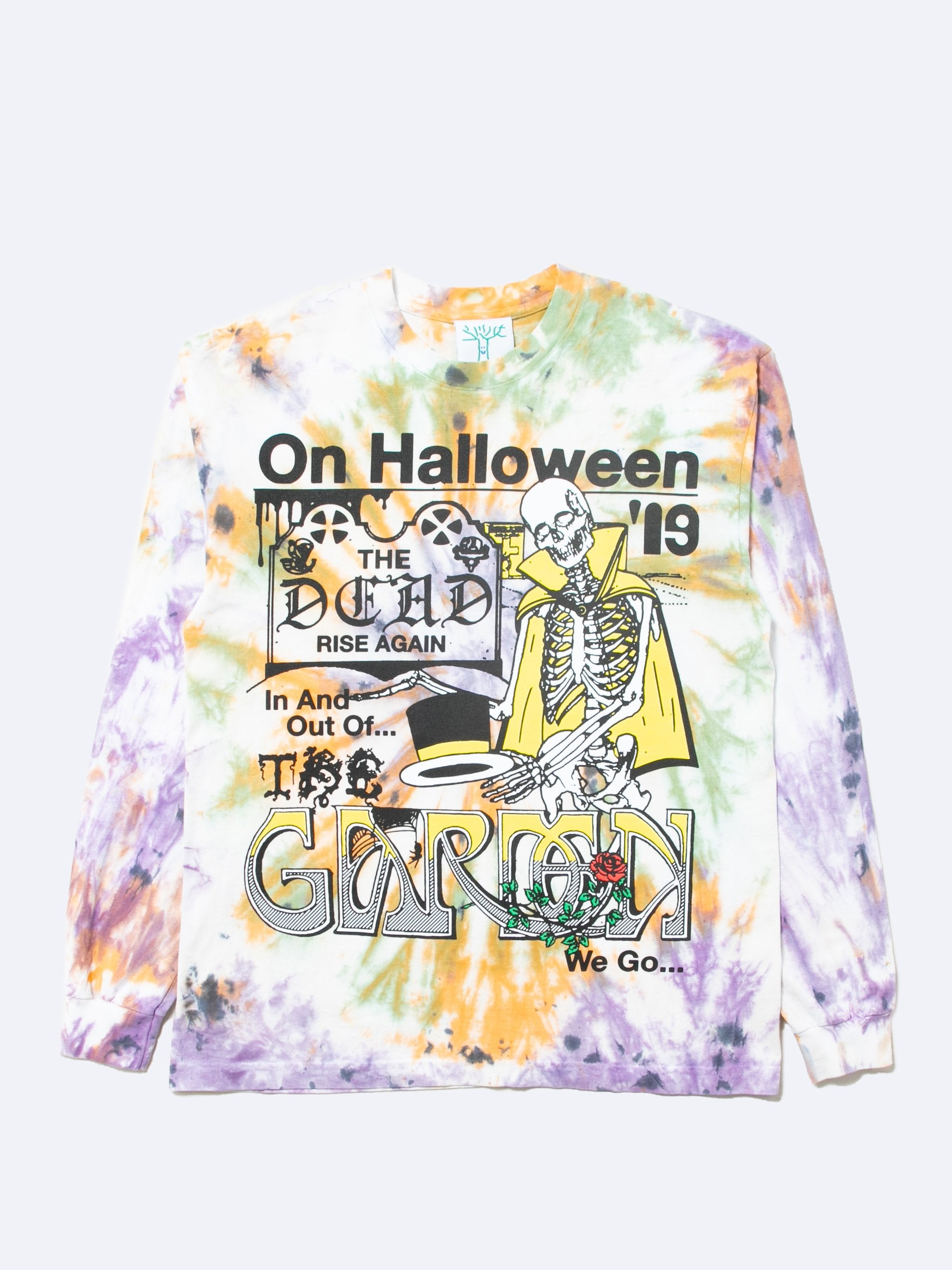 Tie-Dye In and Out of the Garden We Go Long Sleeve T-Shirt 1
