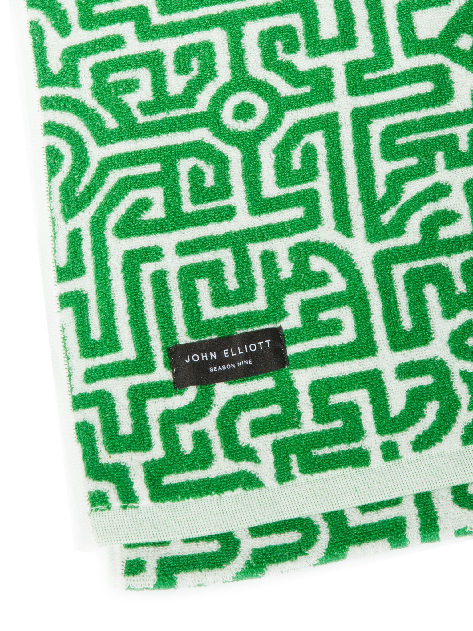 Green Moroccan Beach Towel 3