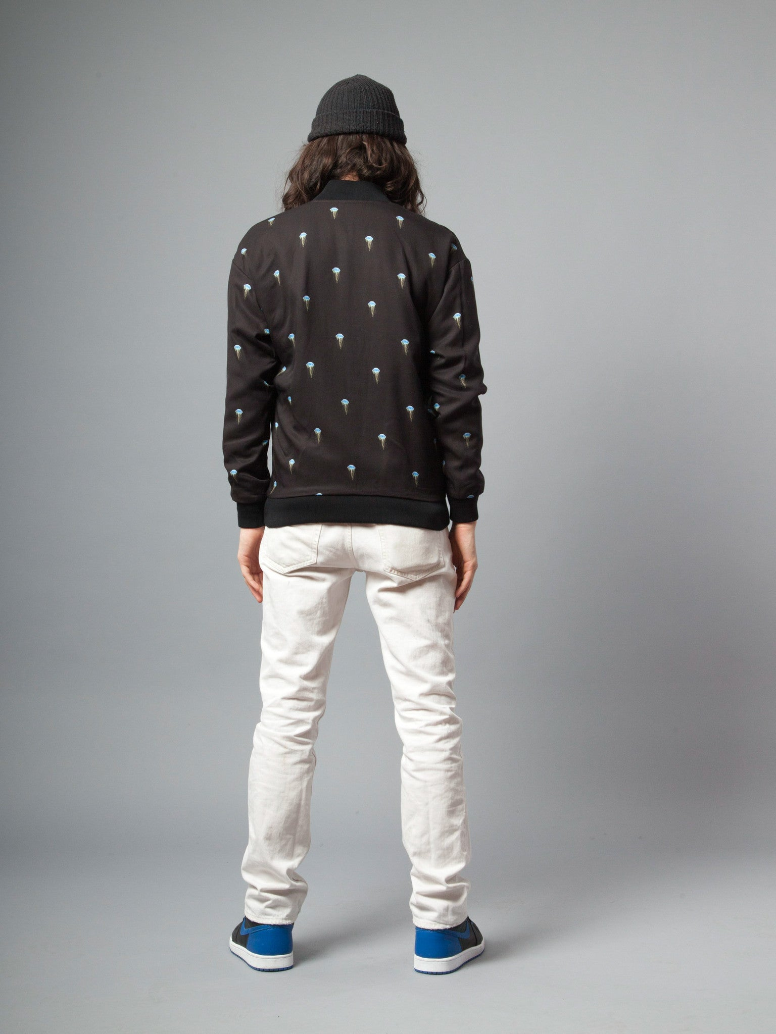 Jellyfish/Black Pisces Reversible Jacket (Jellyfish) 3