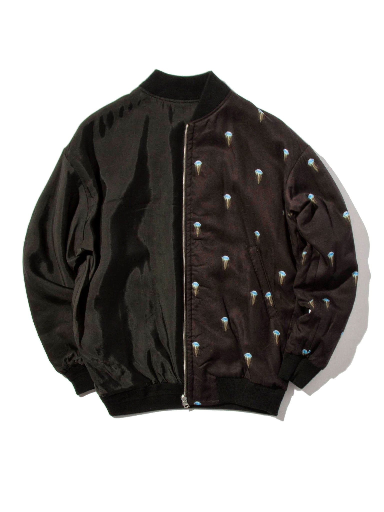 Jellyfish/Black Pisces Reversible Jacket (Jellyfish) 7