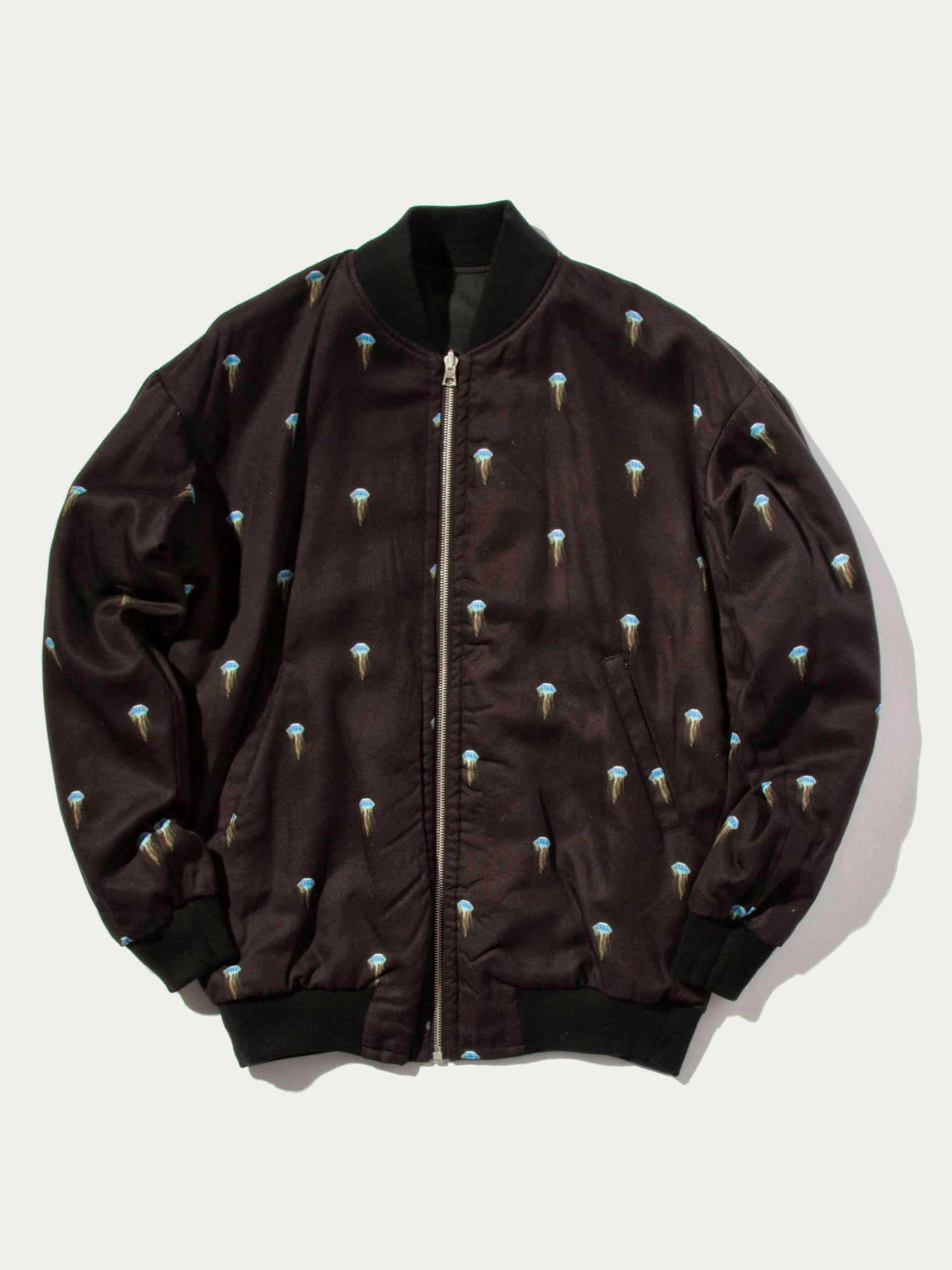 Jellyfish/Black Pisces Reversible Jacket (Jellyfish) 1