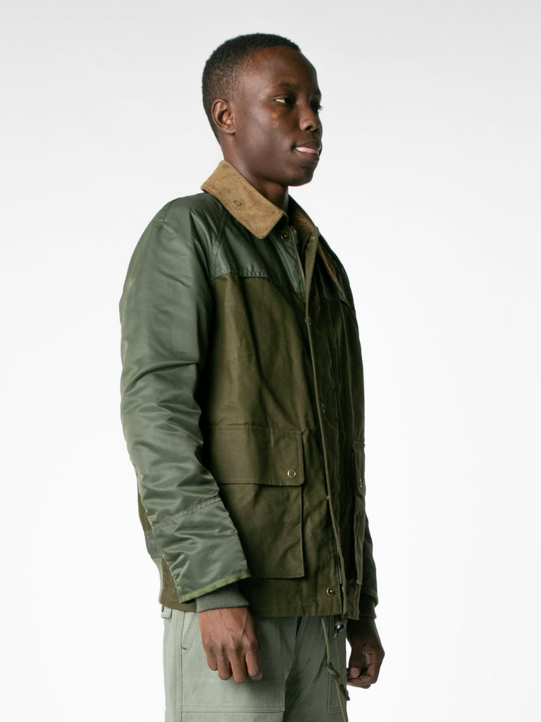 Brown / Olive Hybrid MA-1 Field Coat 413570093056077