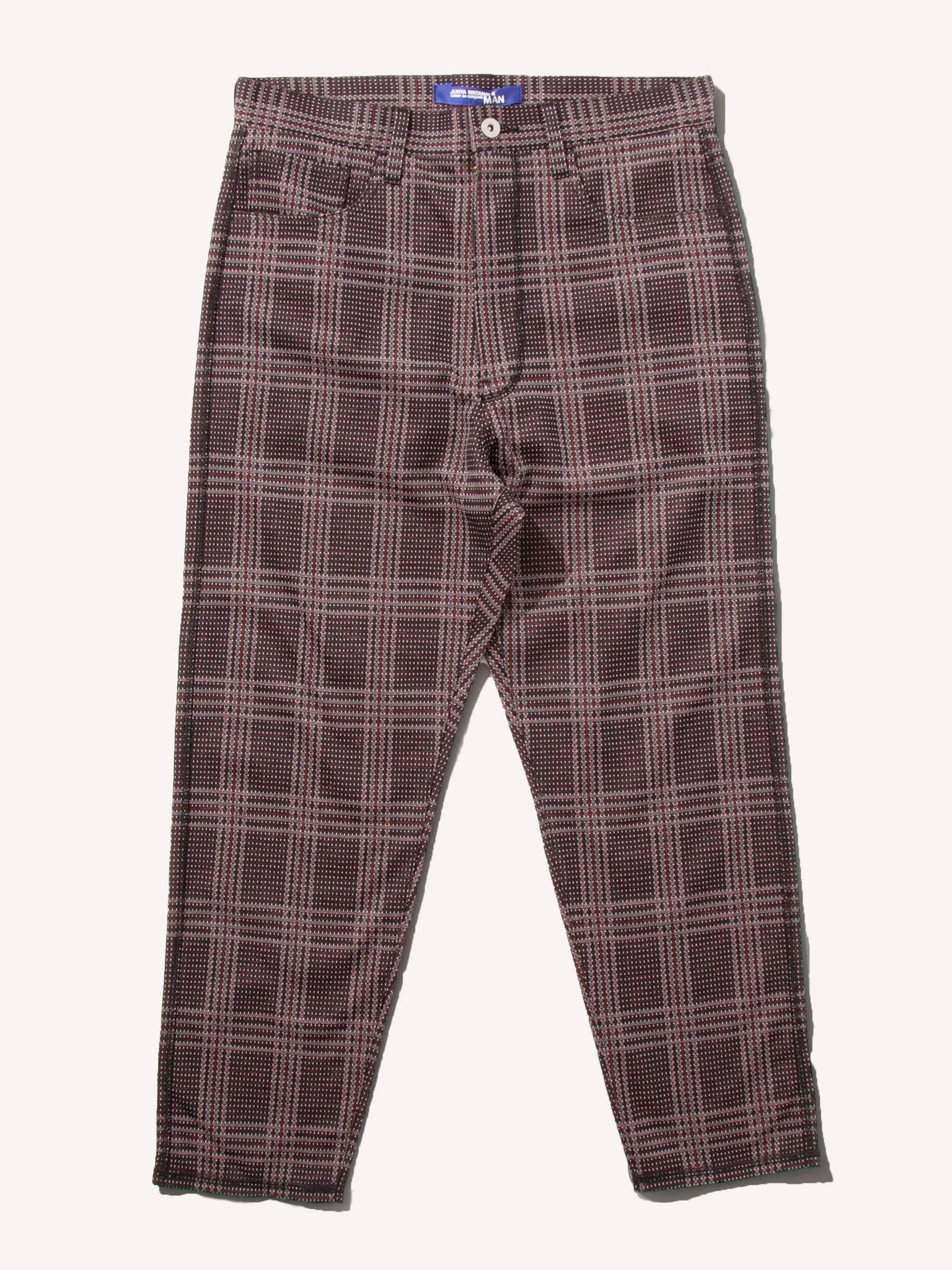 S 5 Pkt Patterned Trouser 1