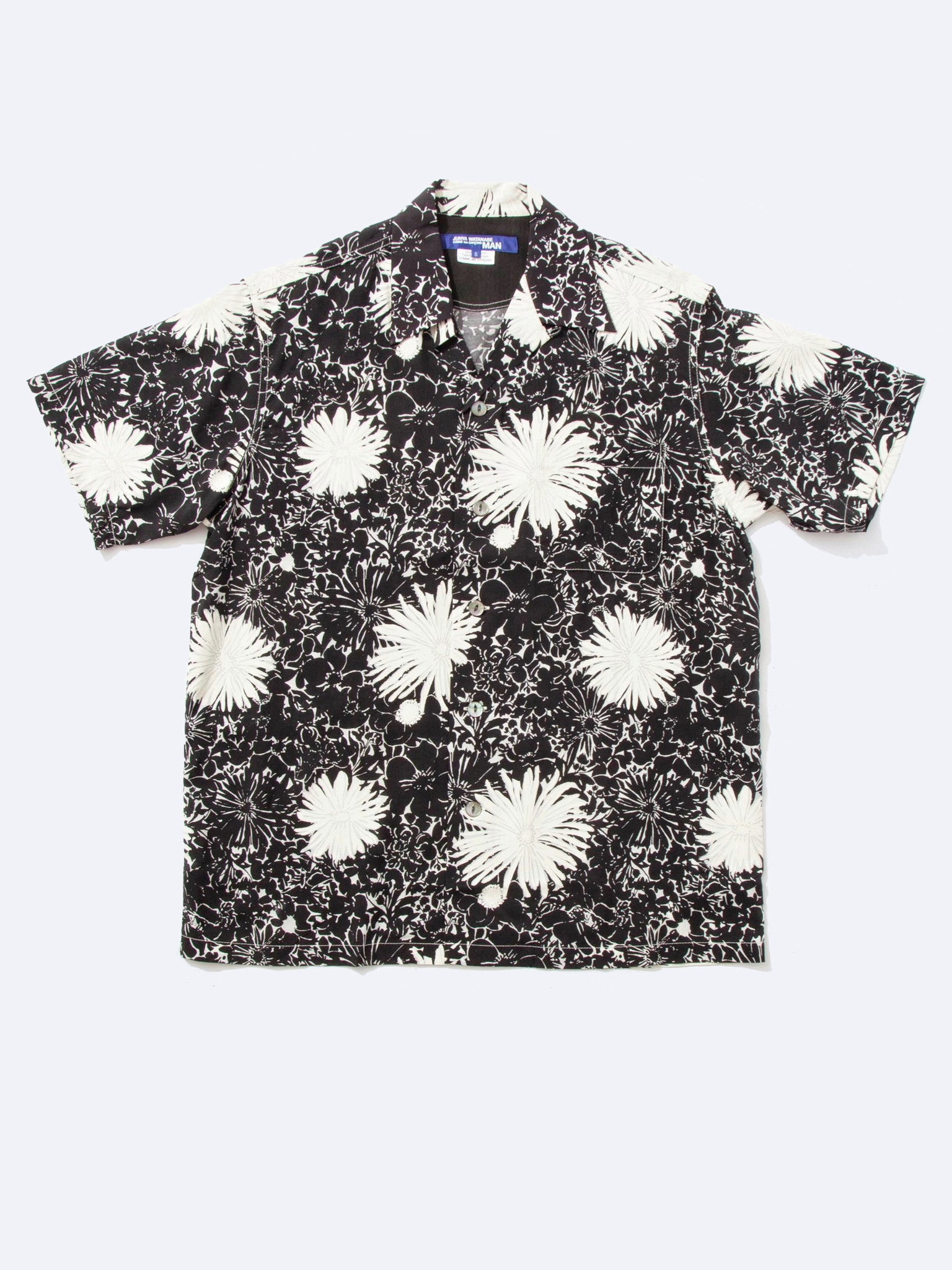 Floral Camp-Collar Shirt