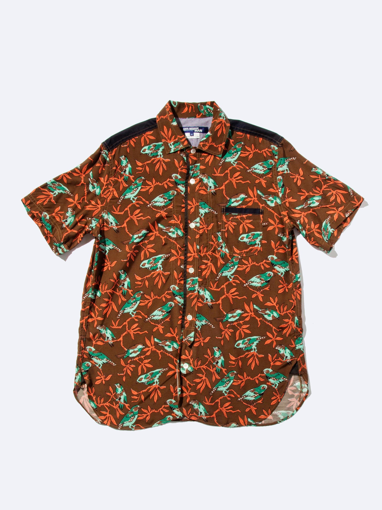 XS Printed Motif Shirt (Birds) 1