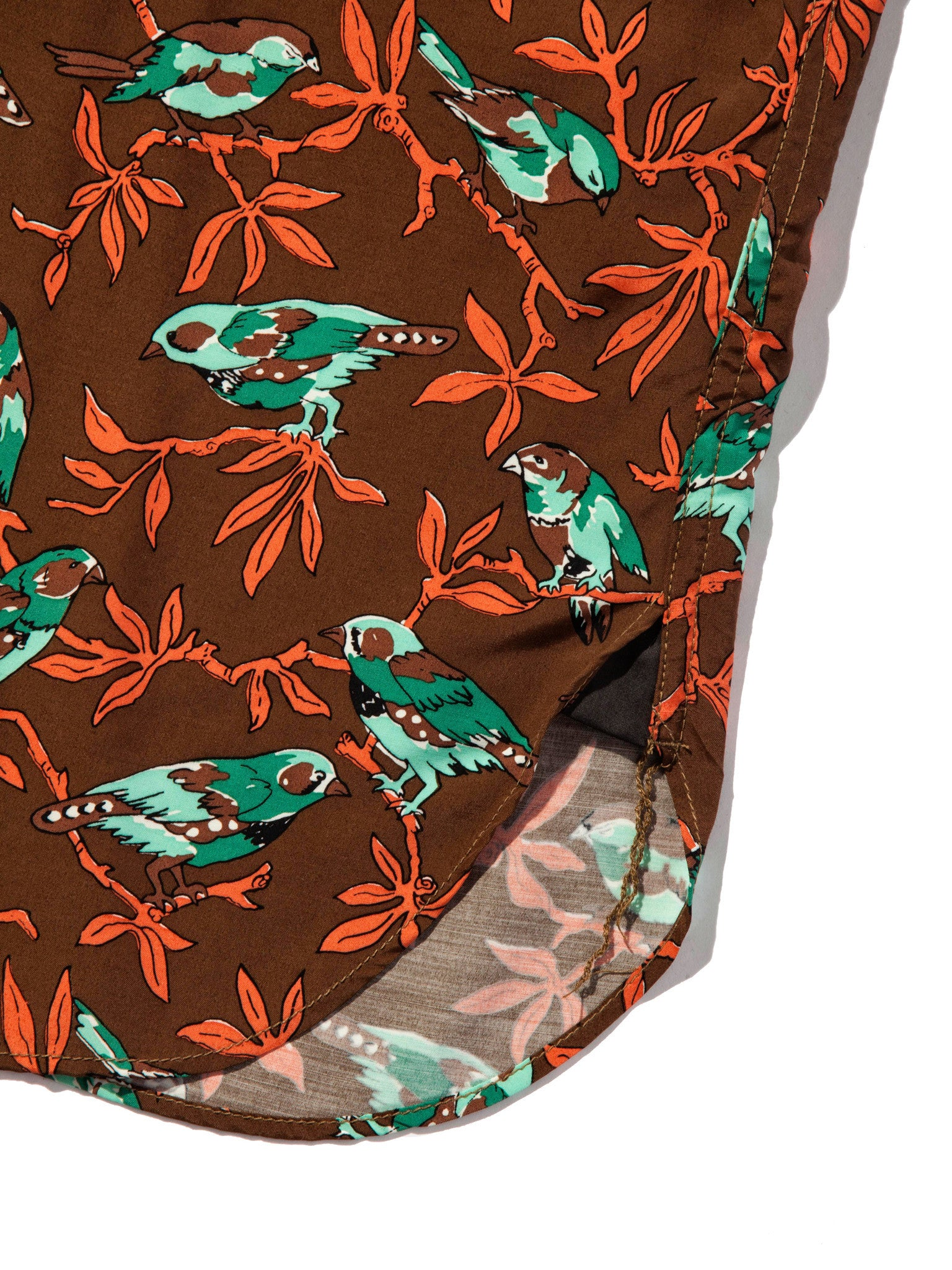 XL Printed Motif Shirt (Birds) 7