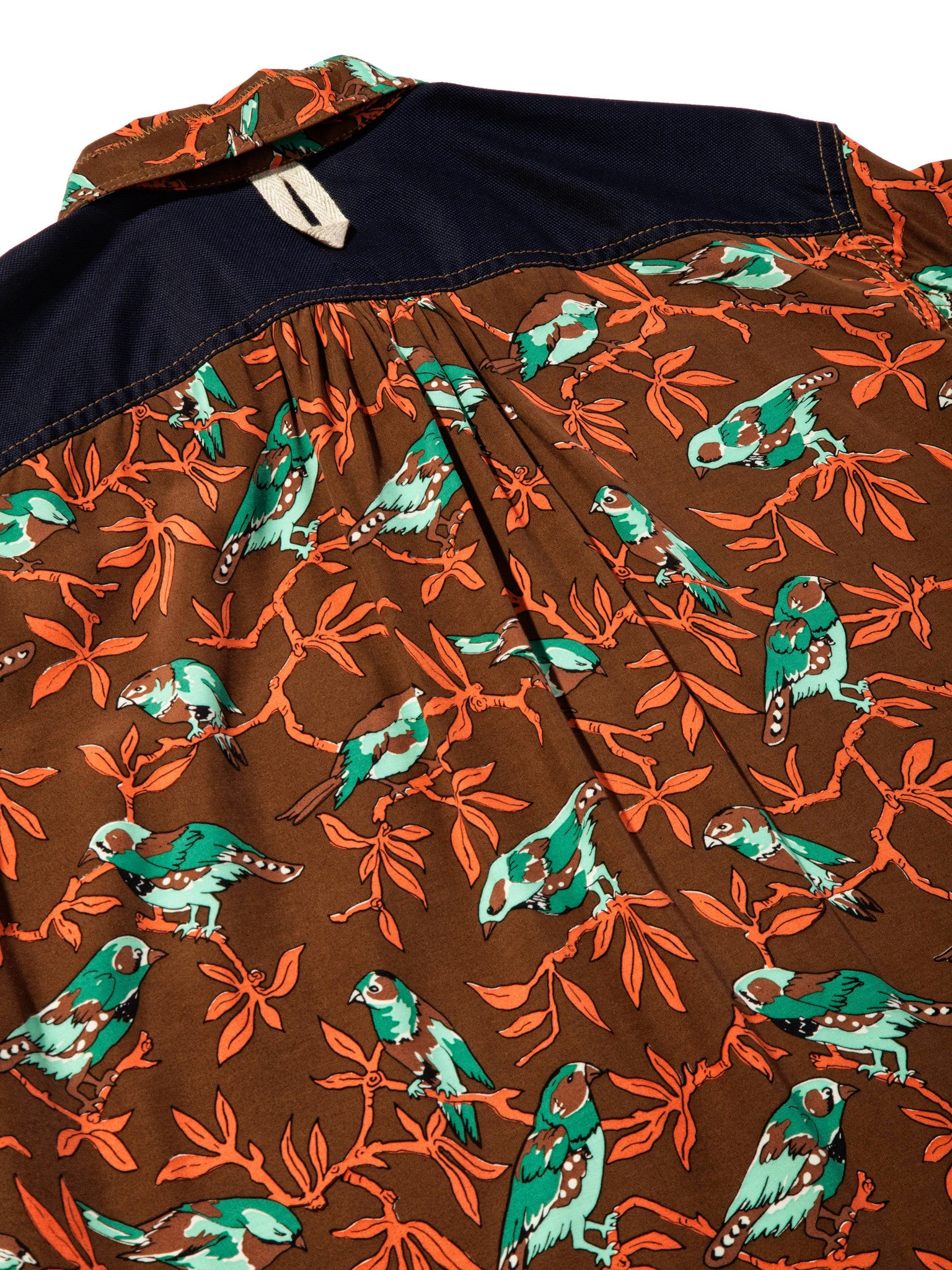 XL Printed Motif Shirt (Birds) 6