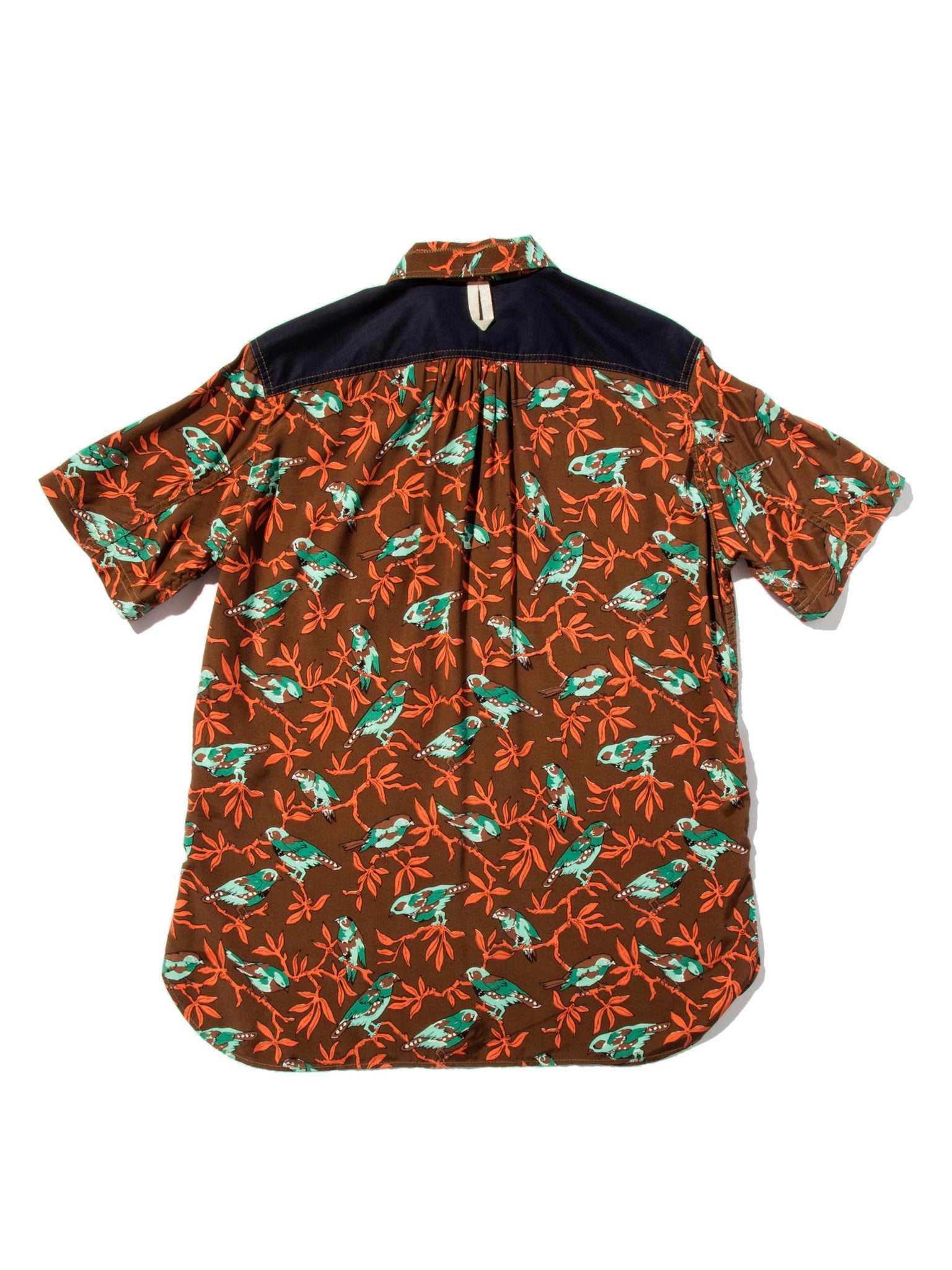 XL Printed Motif Shirt (Birds) 5