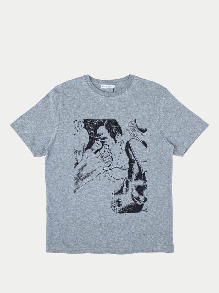 Buy Jw Anderson Foot Print T Shirt Online At Union Los Angeles