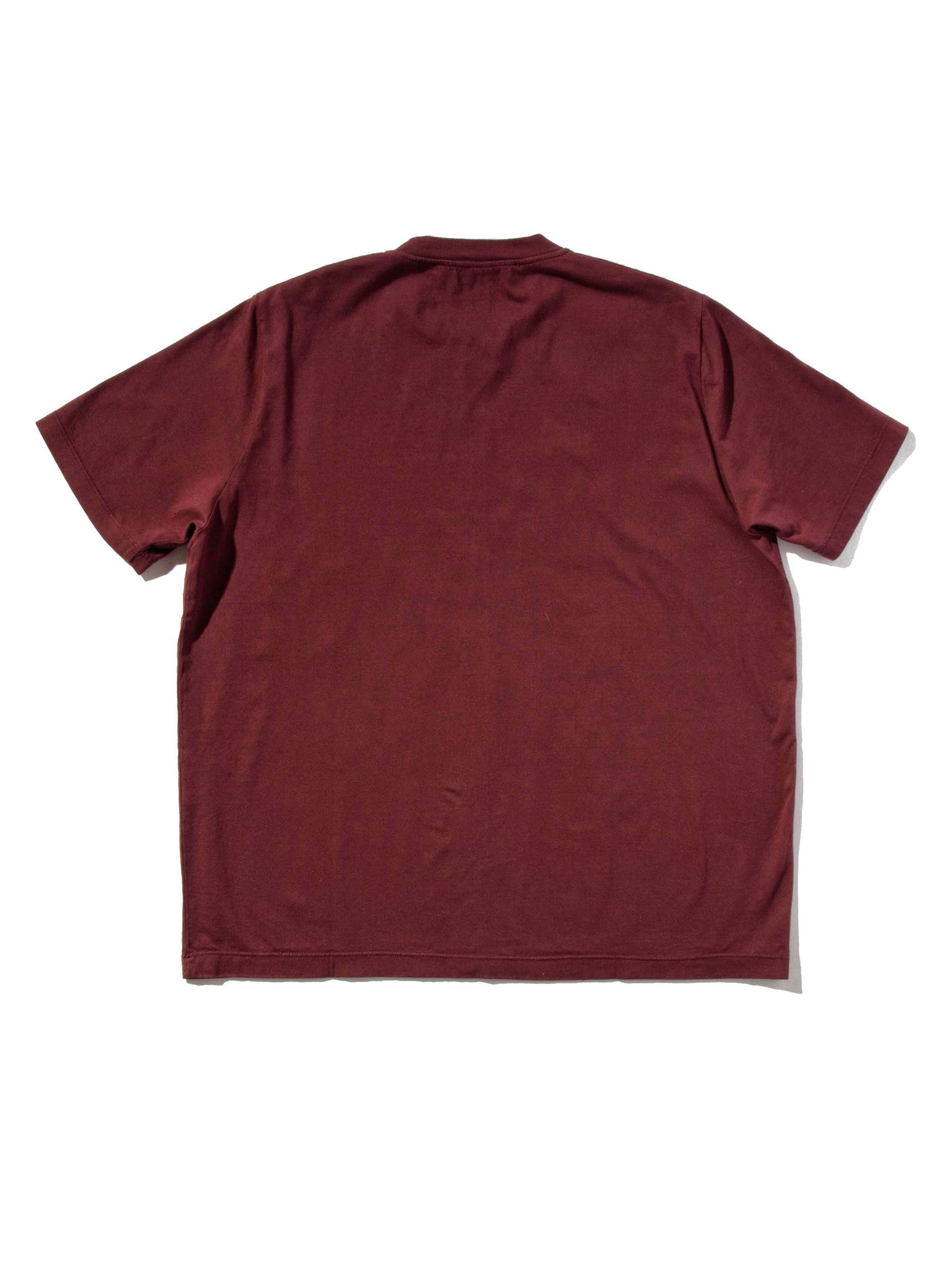 Burgundy Jersey T-Shirt (Boxy Fit) 5