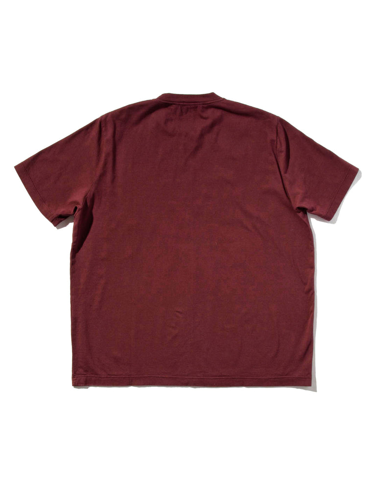 Burgundy Jersey T-Shirt (Boxy Fit) 519855278025