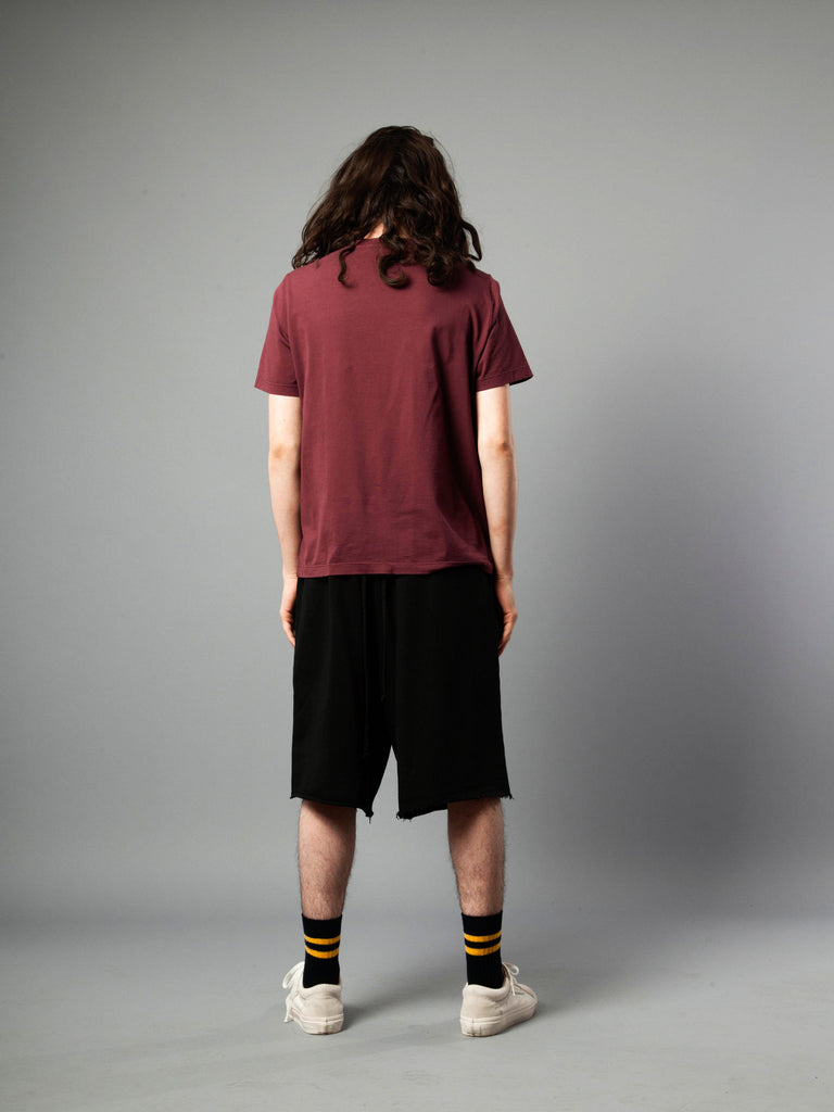 Burgundy Jersey T-Shirt (Boxy Fit) 419855279881