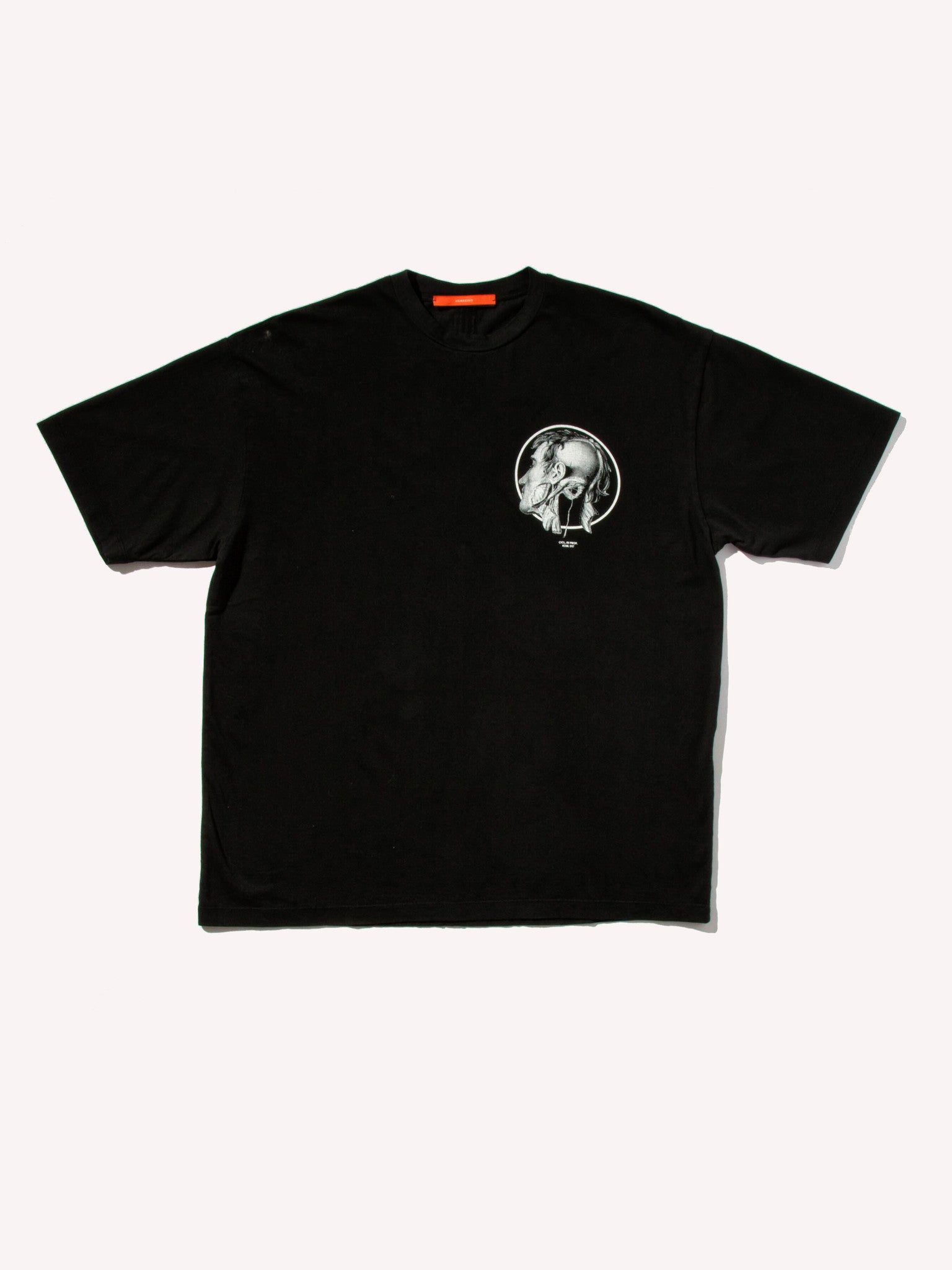 Black Jersey T-Shirt (Loose Fit) 1