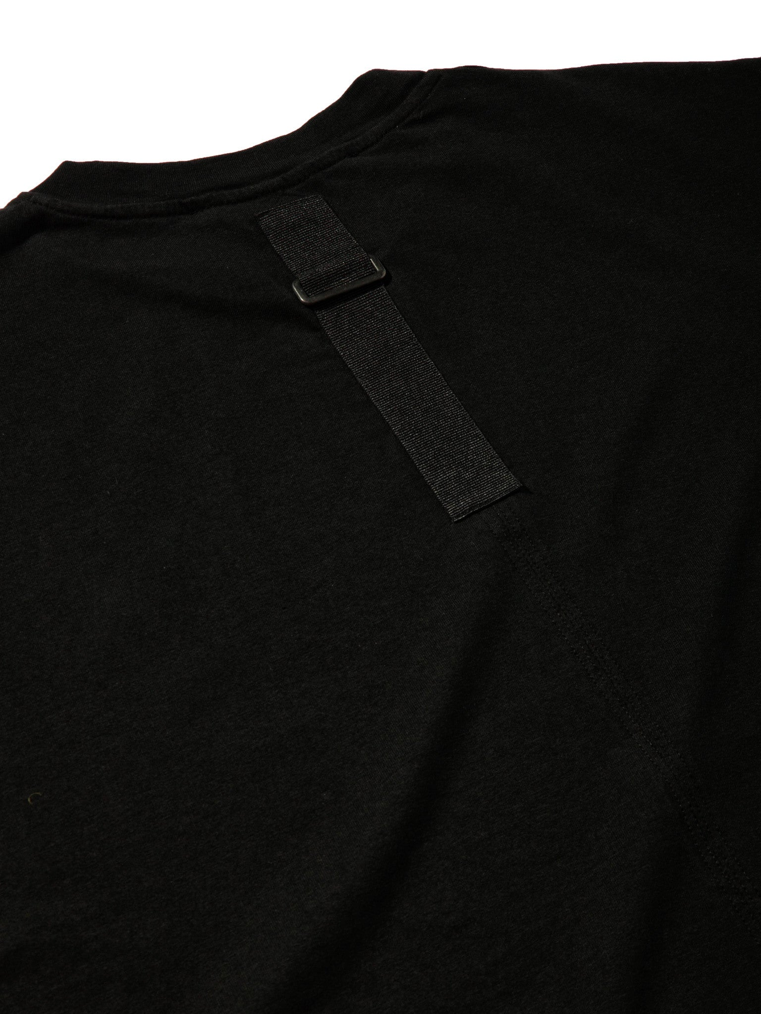 Black Jersey T-Shirt (Loose Fit) 6