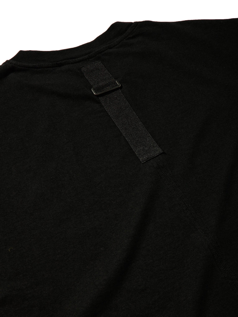 Black Jersey T-Shirt (Loose Fit) 619855279241