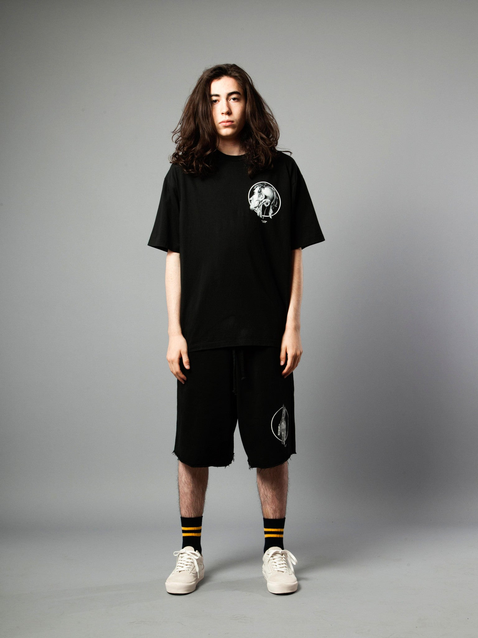 Black Jersey T-Shirt (Loose Fit) 2