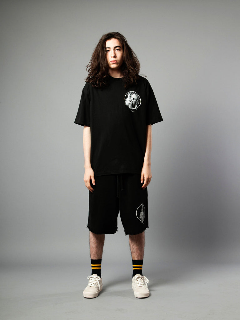 Black Jersey T-Shirt (Loose Fit) 219855279817