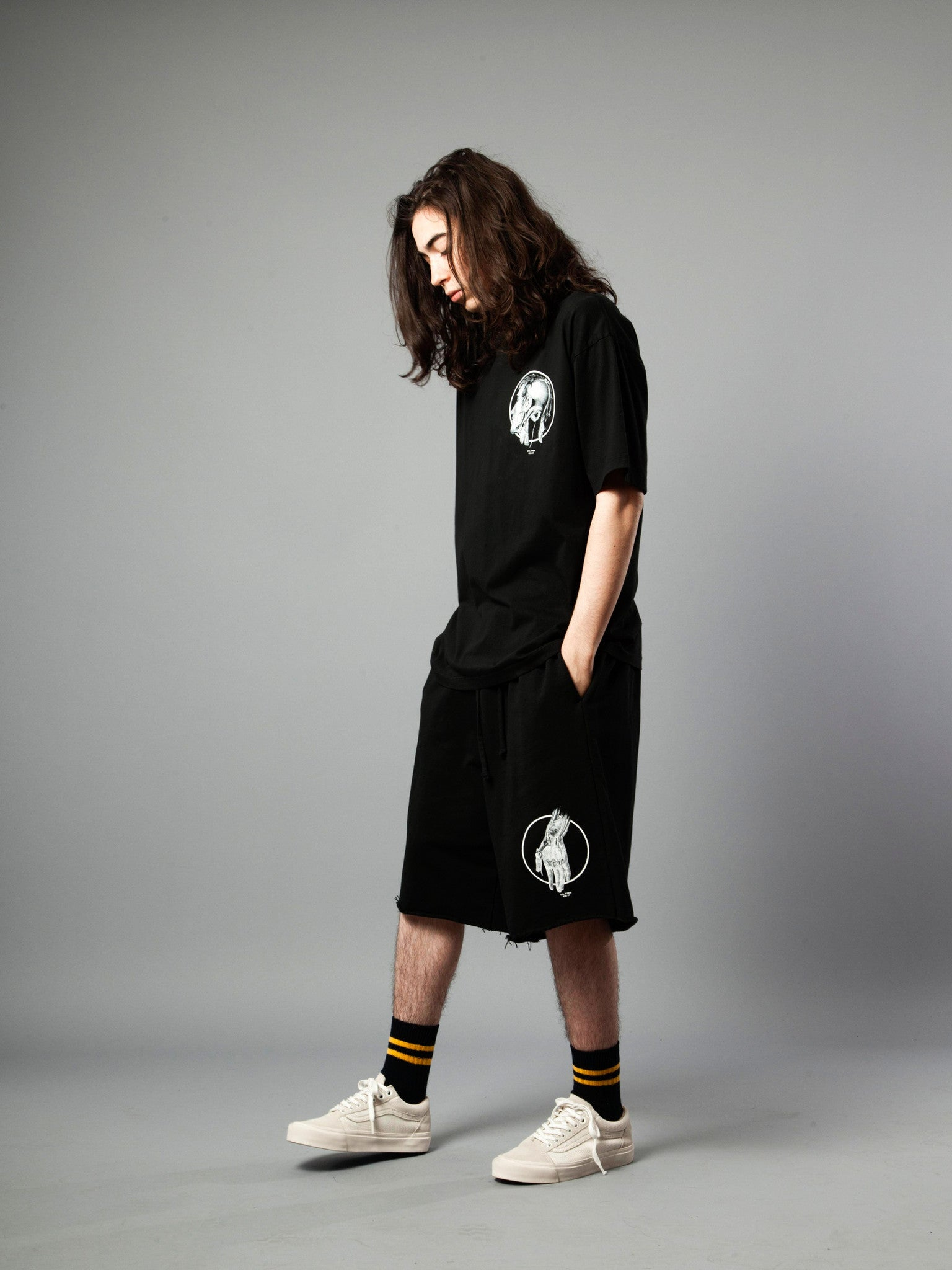 Black Jersey T-Shirt (Loose Fit) 3