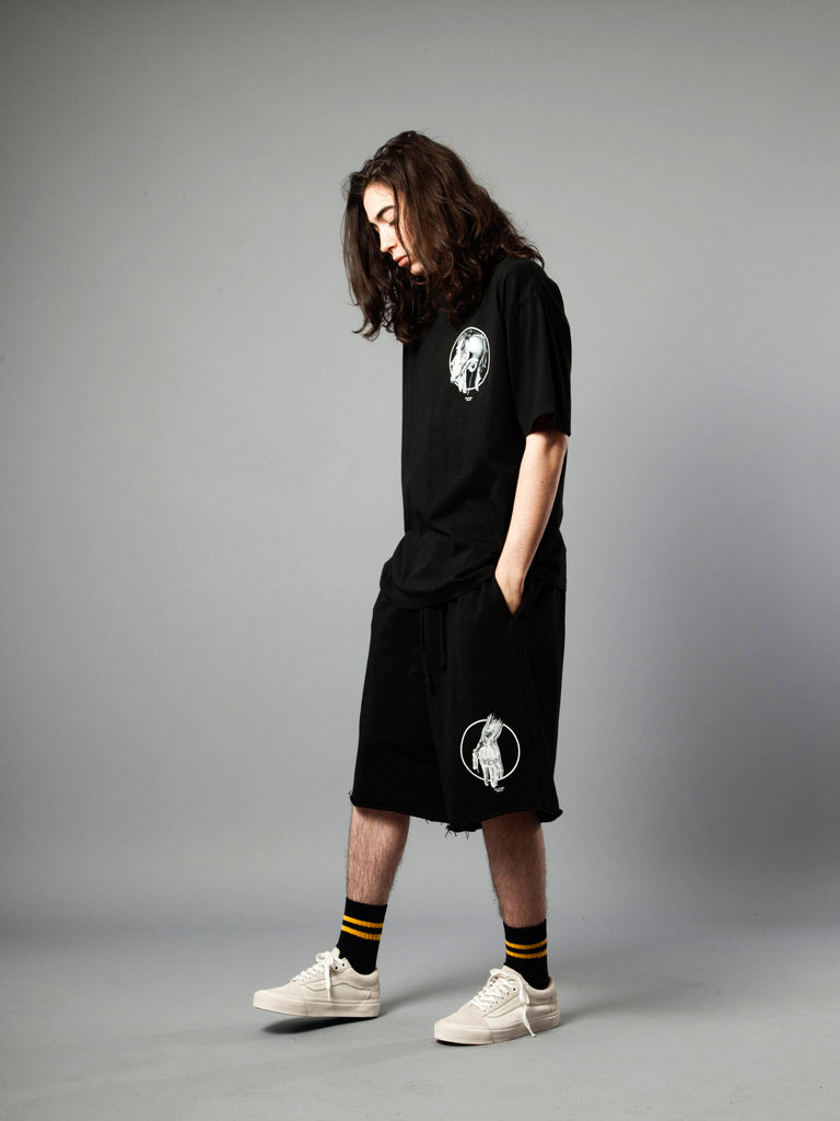 Black Jersey T-Shirt (Loose Fit) 319855280521