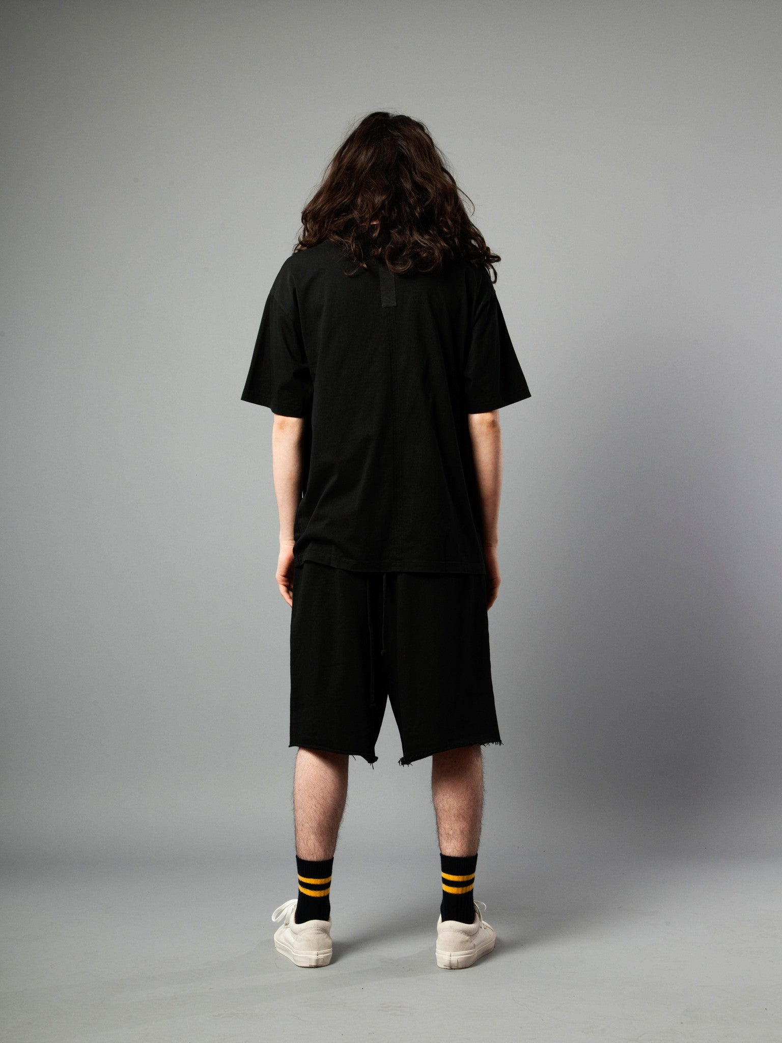 Black Jersey T-Shirt (Loose Fit) 4