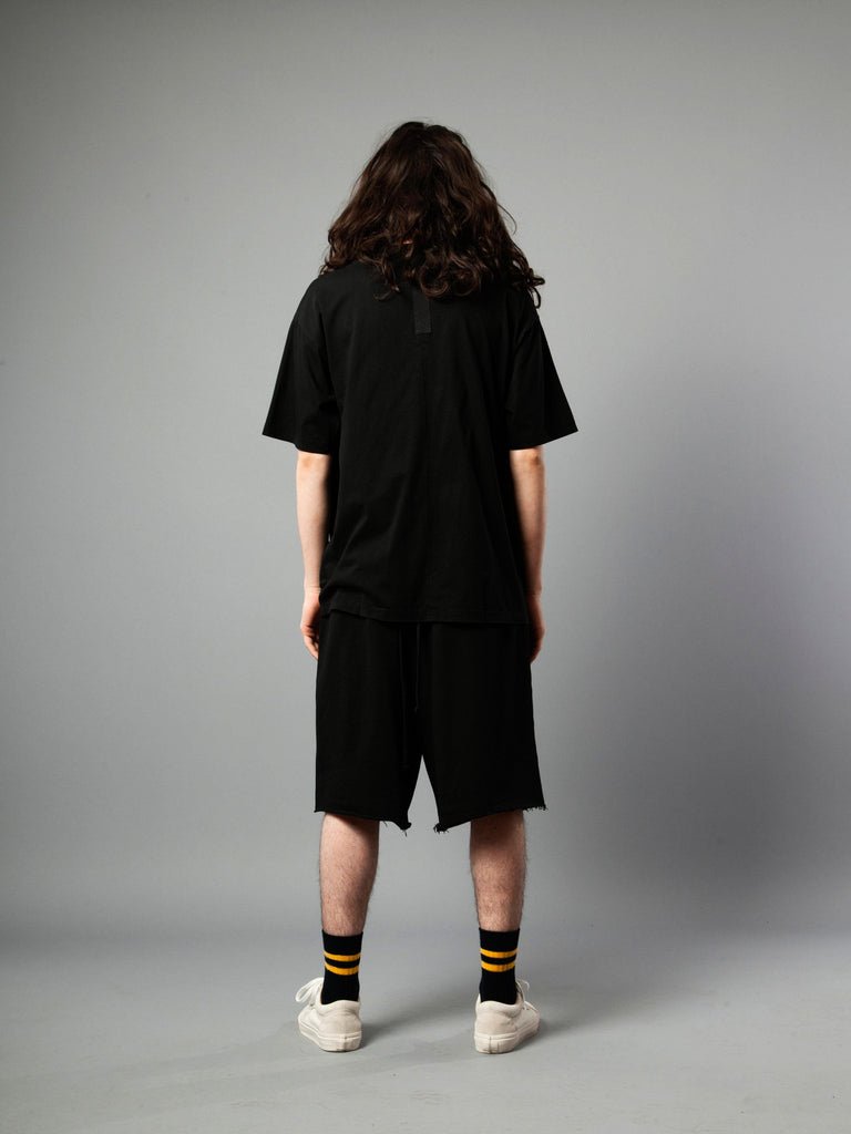 Black Jersey T-Shirt (Loose Fit) 419855282697