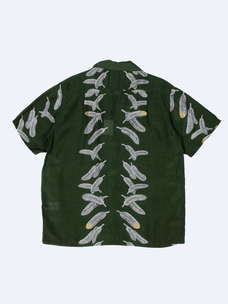 Silk Rayon Eagle Jewel Aloha Shirt15366606127181