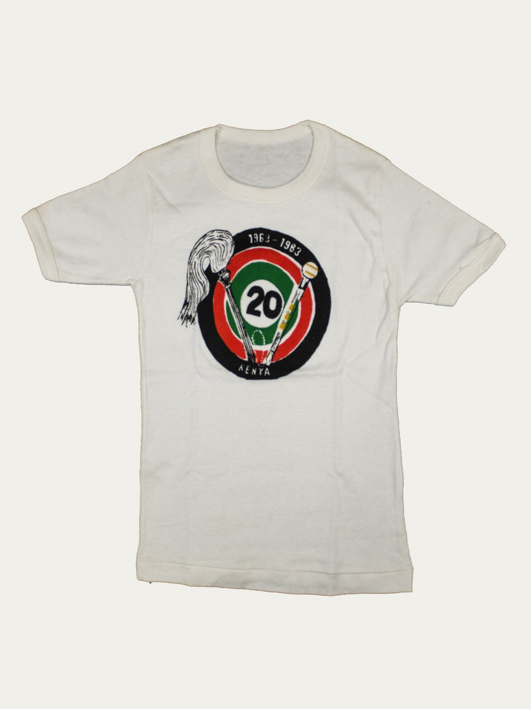 1983 Toddler's Kenyan Independence Commemorative T-Shirt