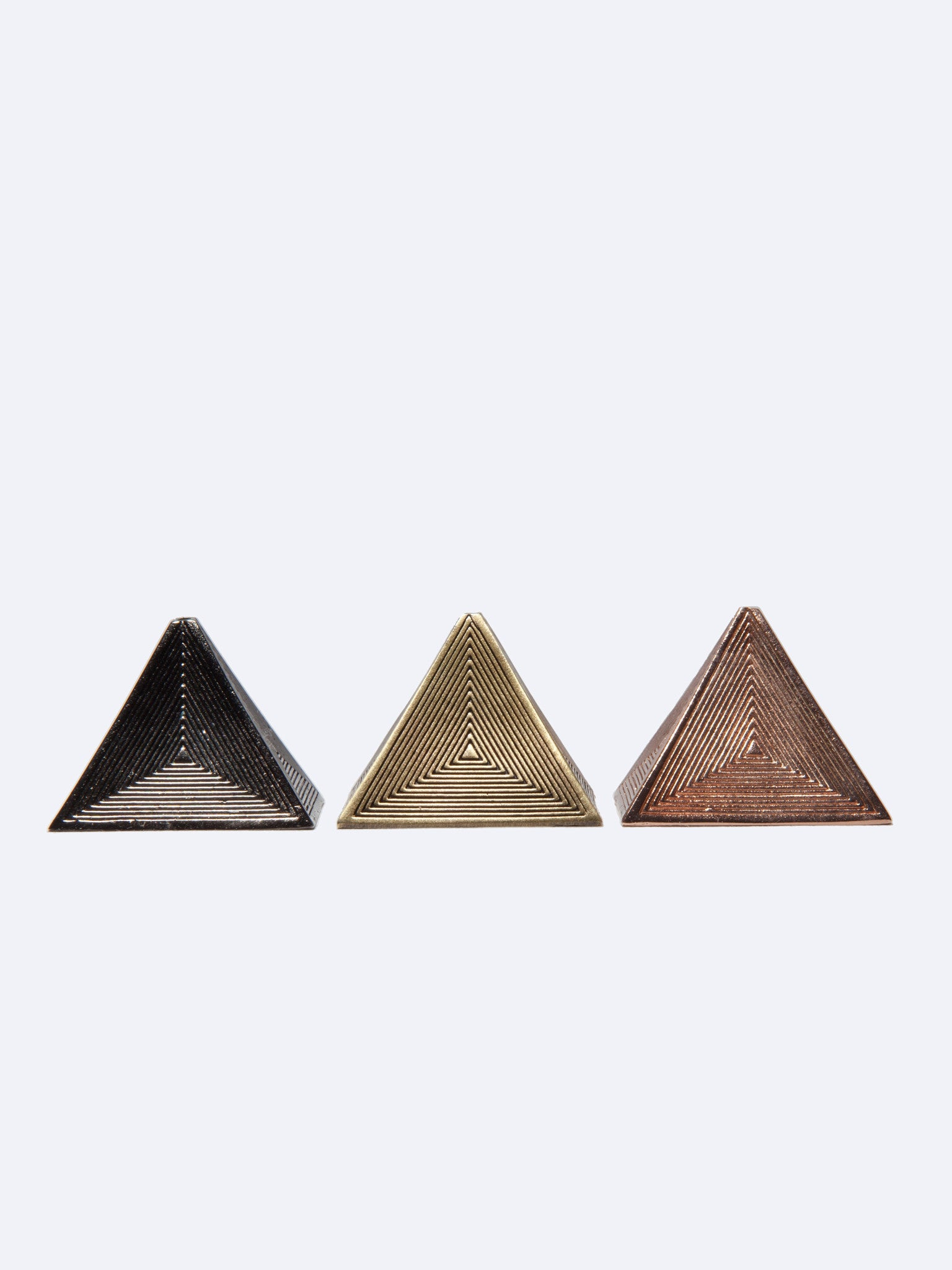 Brass Pyramid (Metal Incense Holder) 1