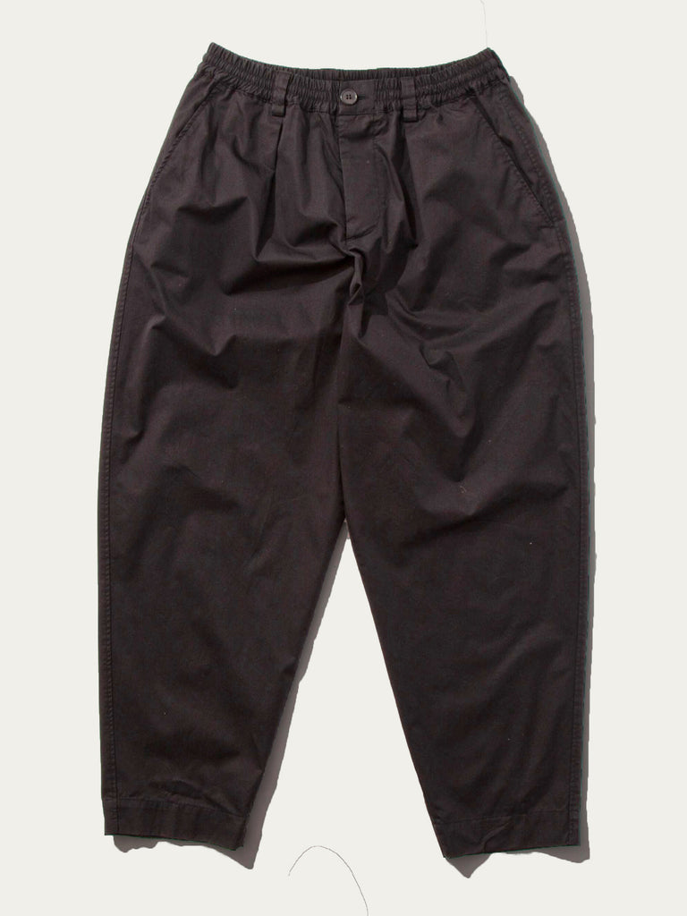 Light Washed Cotton Twill Drawstring Trouser