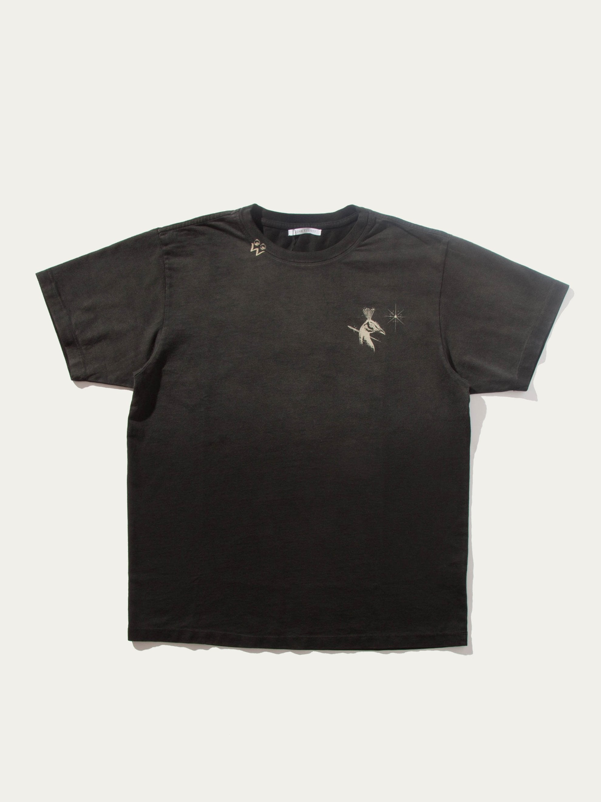 Black Washed T-Shirt (John Elliott x Dr. Woo UNION Capsule) 1