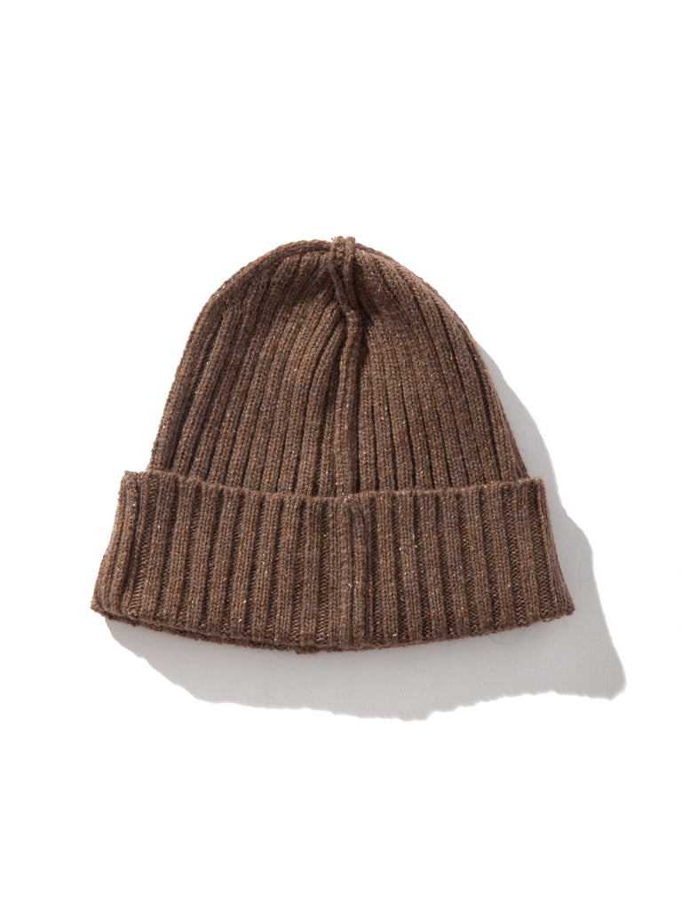 Mustard ABOVE THE TOWER Wool Beanie 3535313547273