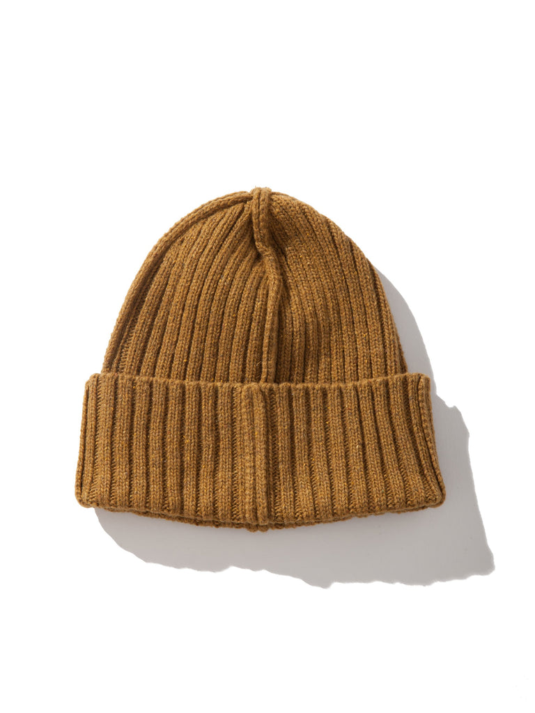 Mustard ABOVE THE TOWER Wool Beanie 5535314202633