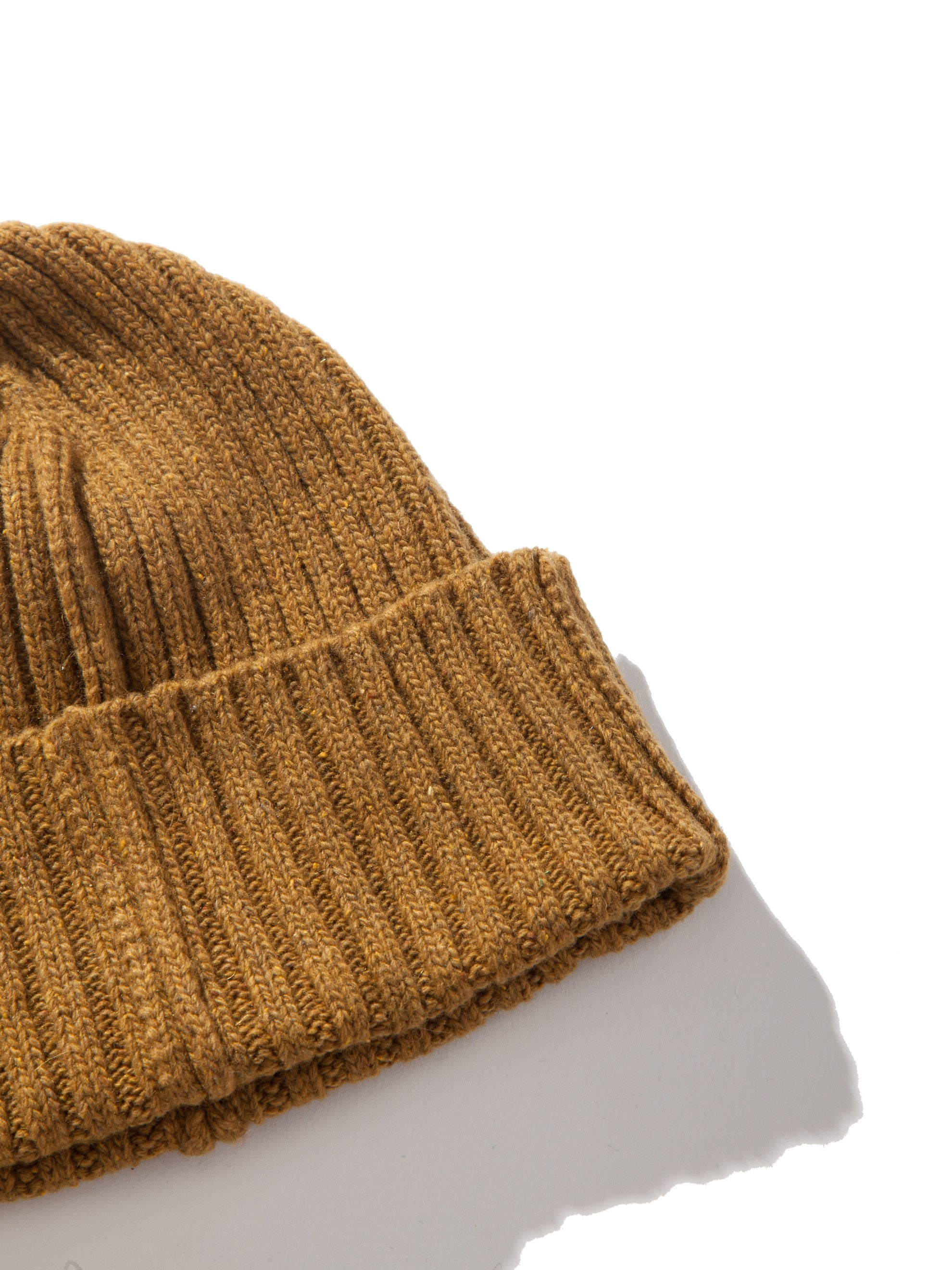 Brown ABOVE THE TOWER Wool Beanie 2