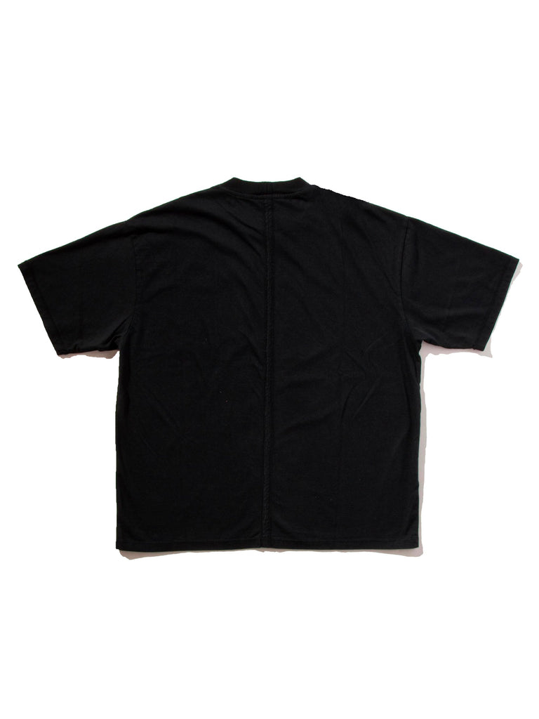 Black Jersey Cuts T-Shirt (Patch) 523529124041