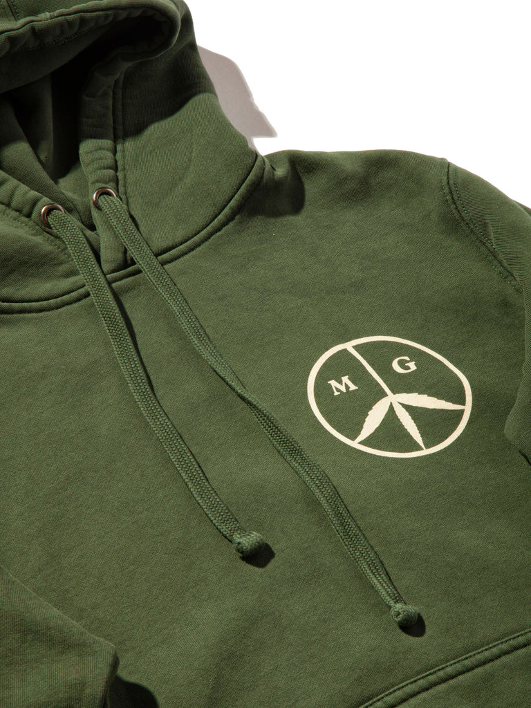 Forest Green Peace Hooded Sweatshirt 520014349257