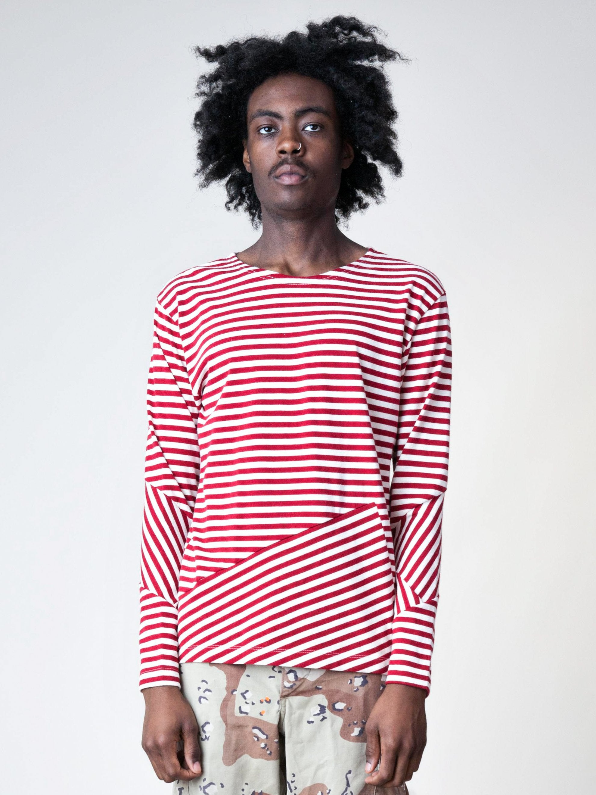 Stripes/Red Stripes L/S T-Shirt 2