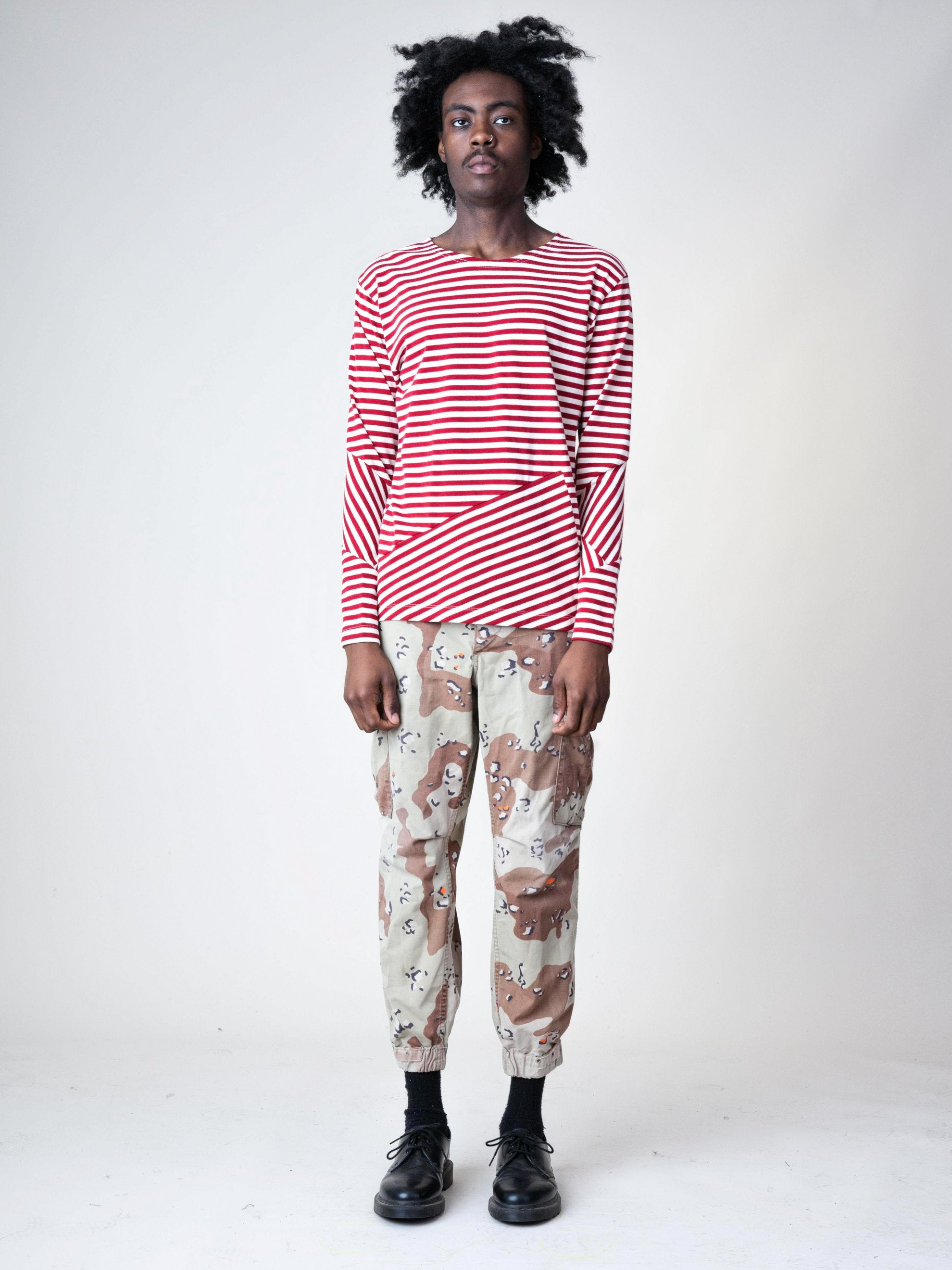 Stripes/Red Stripes L/S T-Shirt 3