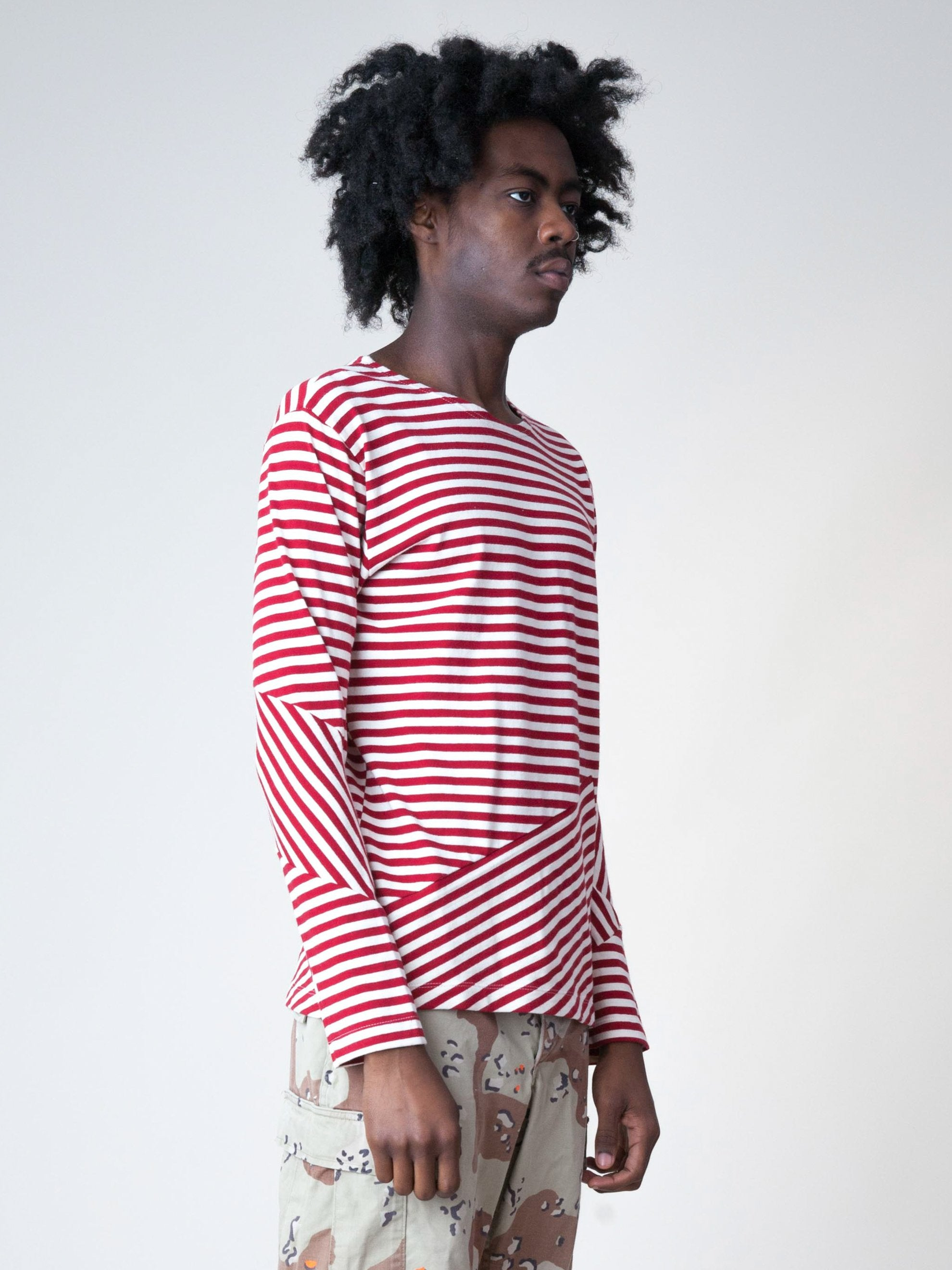 Stripes/Red Stripes L/S T-Shirt 4