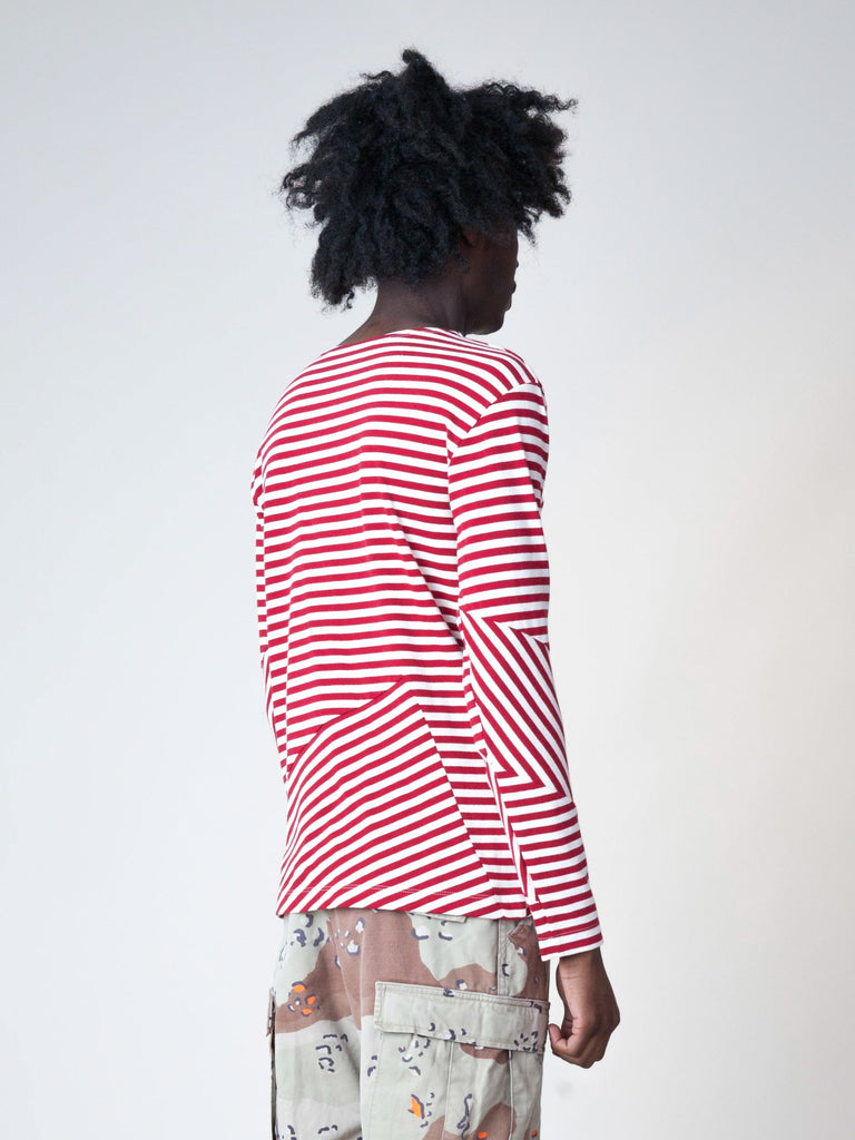 Stripes/Red Stripes L/S T-Shirt 53596513443917