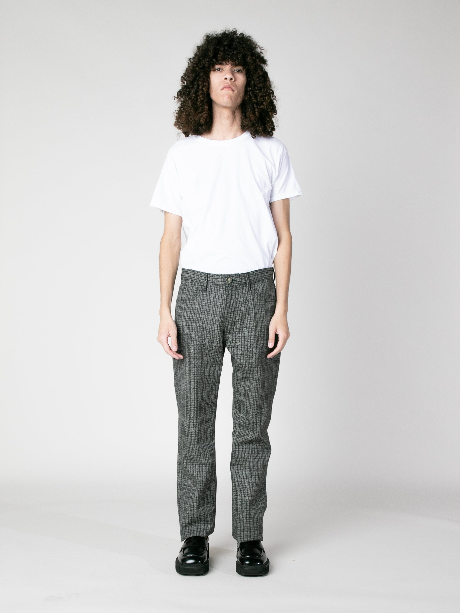 Charcoal Woven Trousers 2