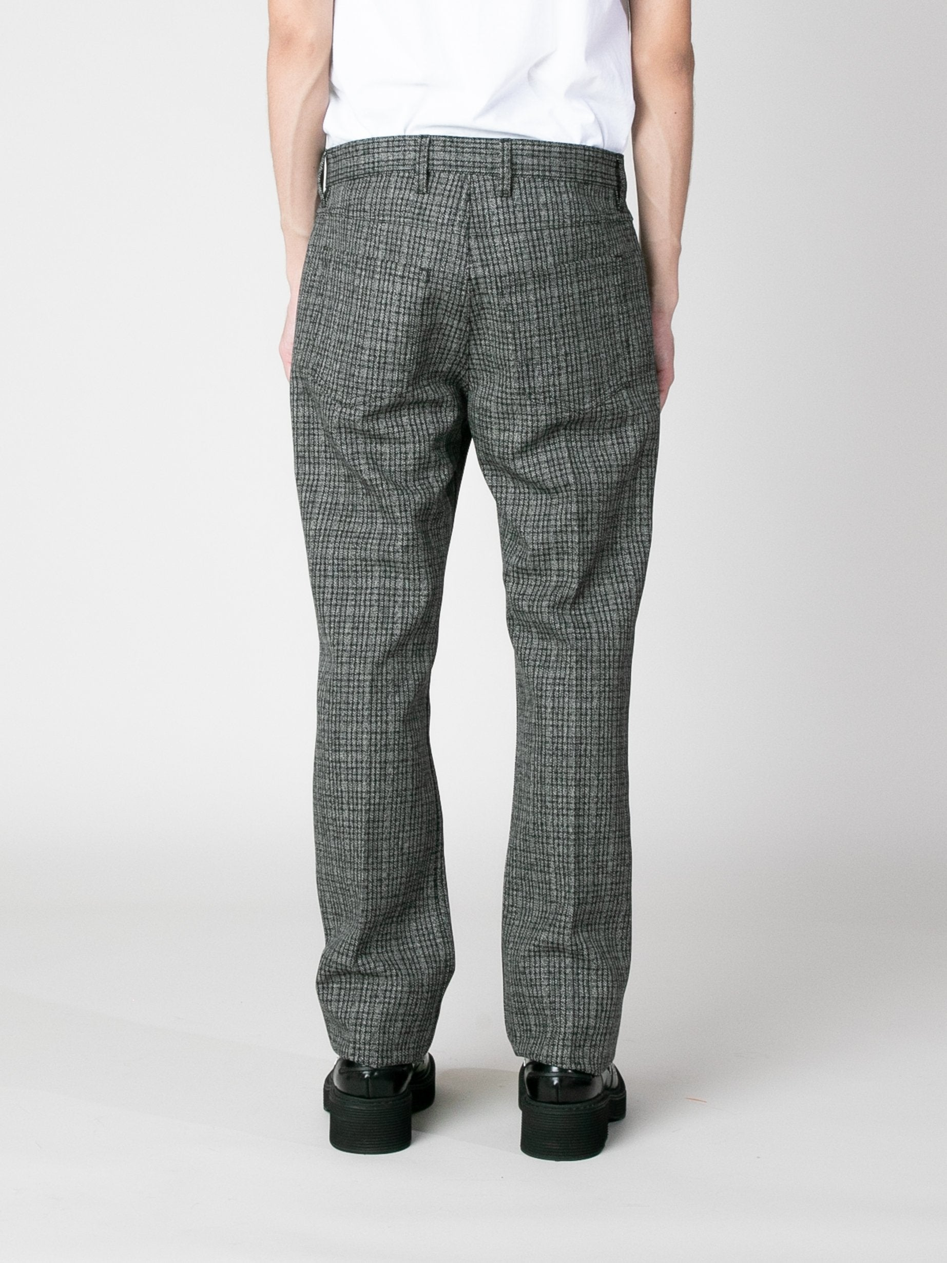 Charcoal Woven Trousers 6