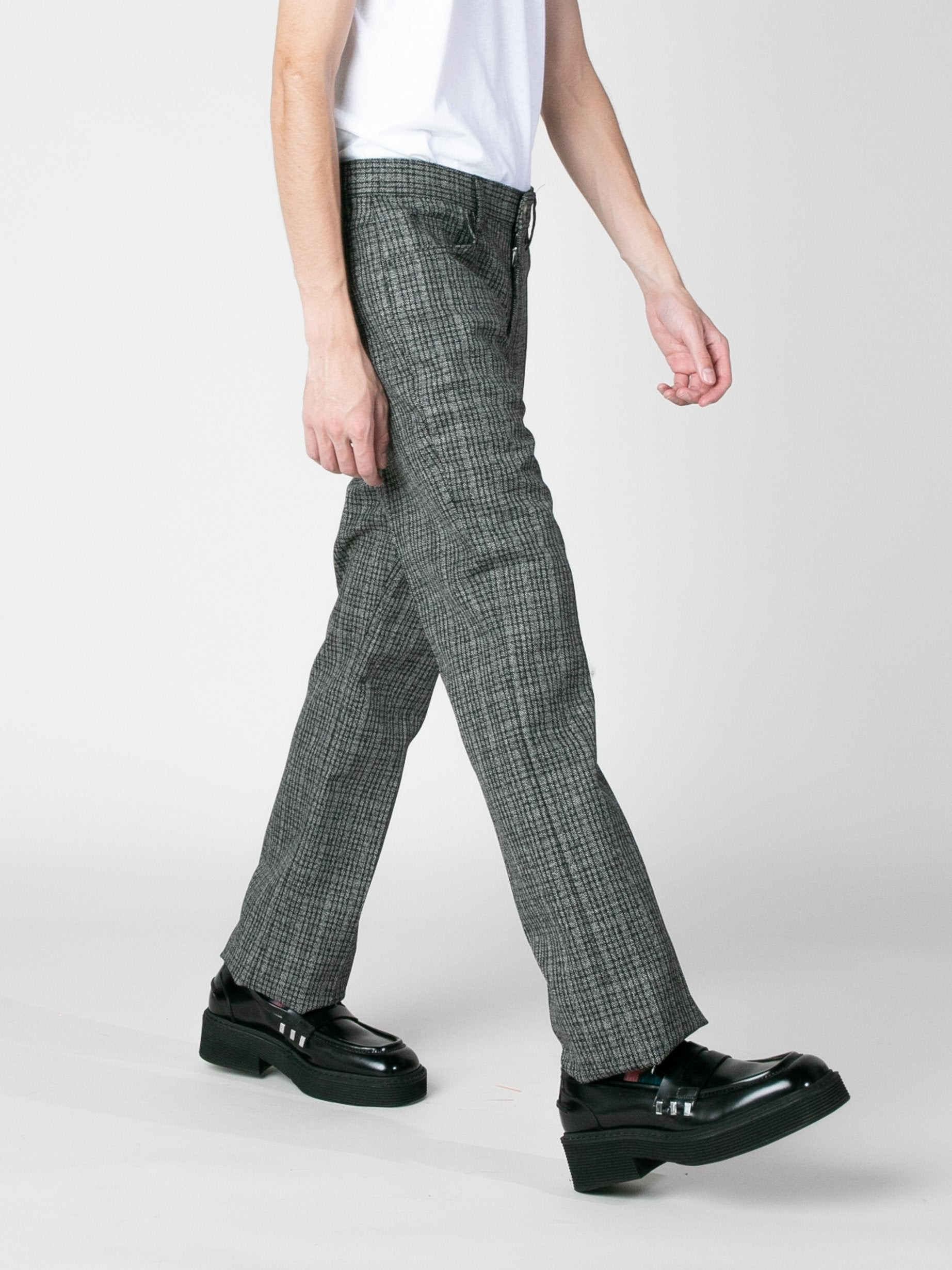 Charcoal Woven Trousers 5