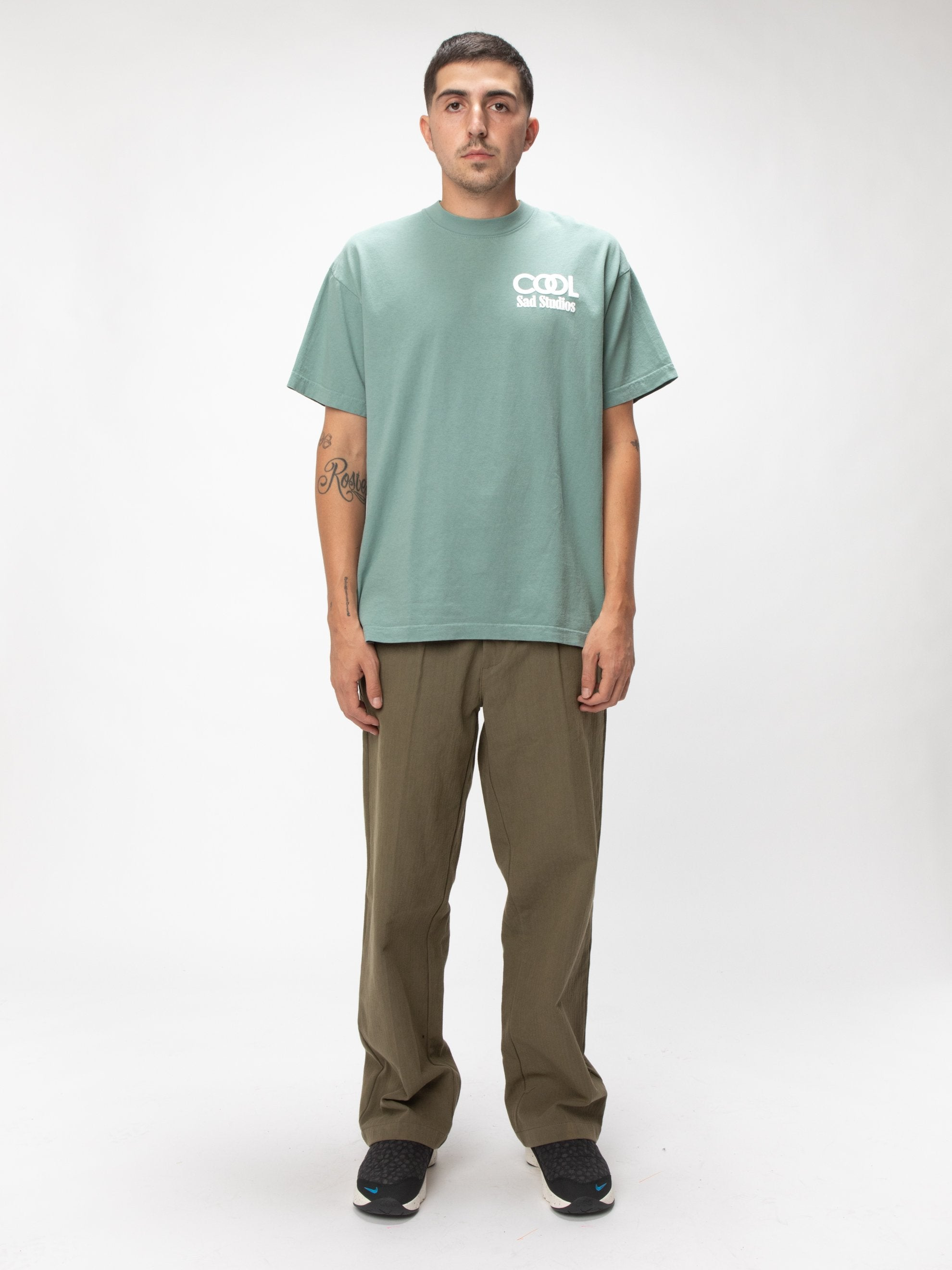 Atlantic Green Cruel World Tee 2