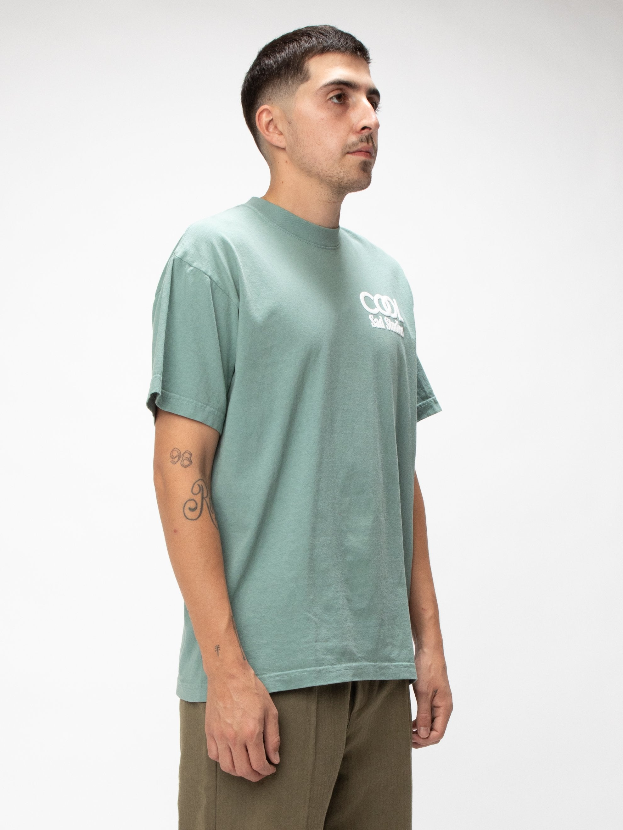 Atlantic Green Cruel World Tee 4