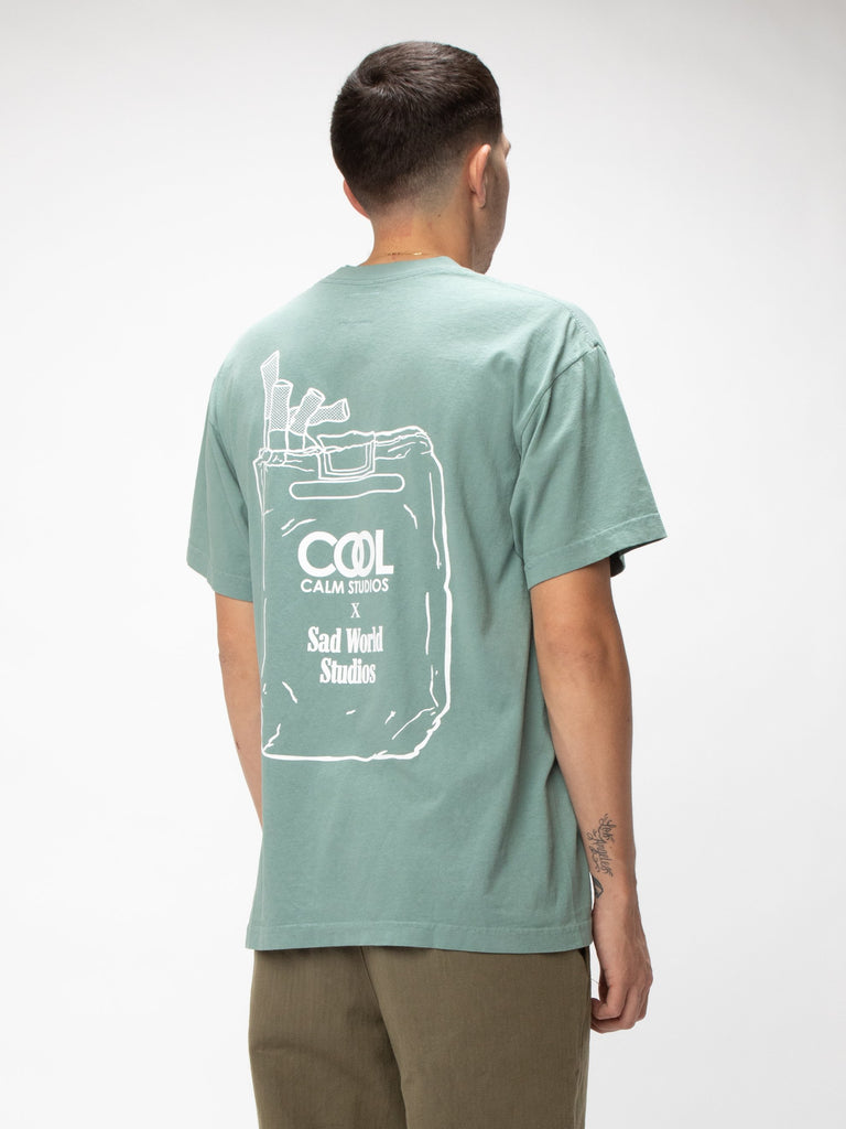 Atlantic Green Cruel World Tee 515852032557133